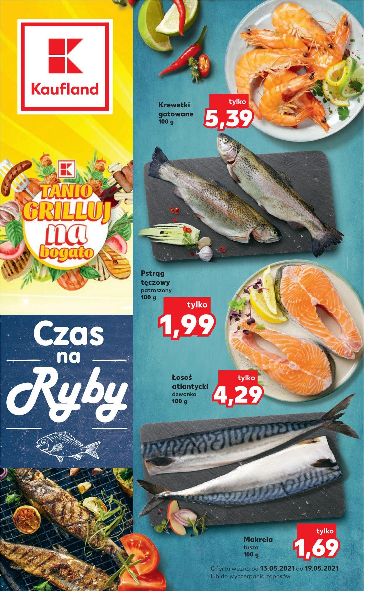 Gazetka promocyjna Kaufland - 13.05-19.05.2021