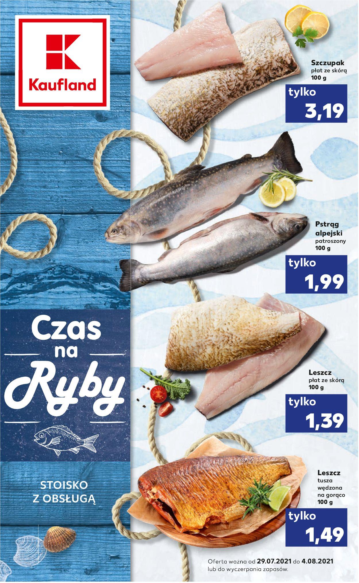 Gazetka promocyjna Kaufland - 29.07-04.08.2021