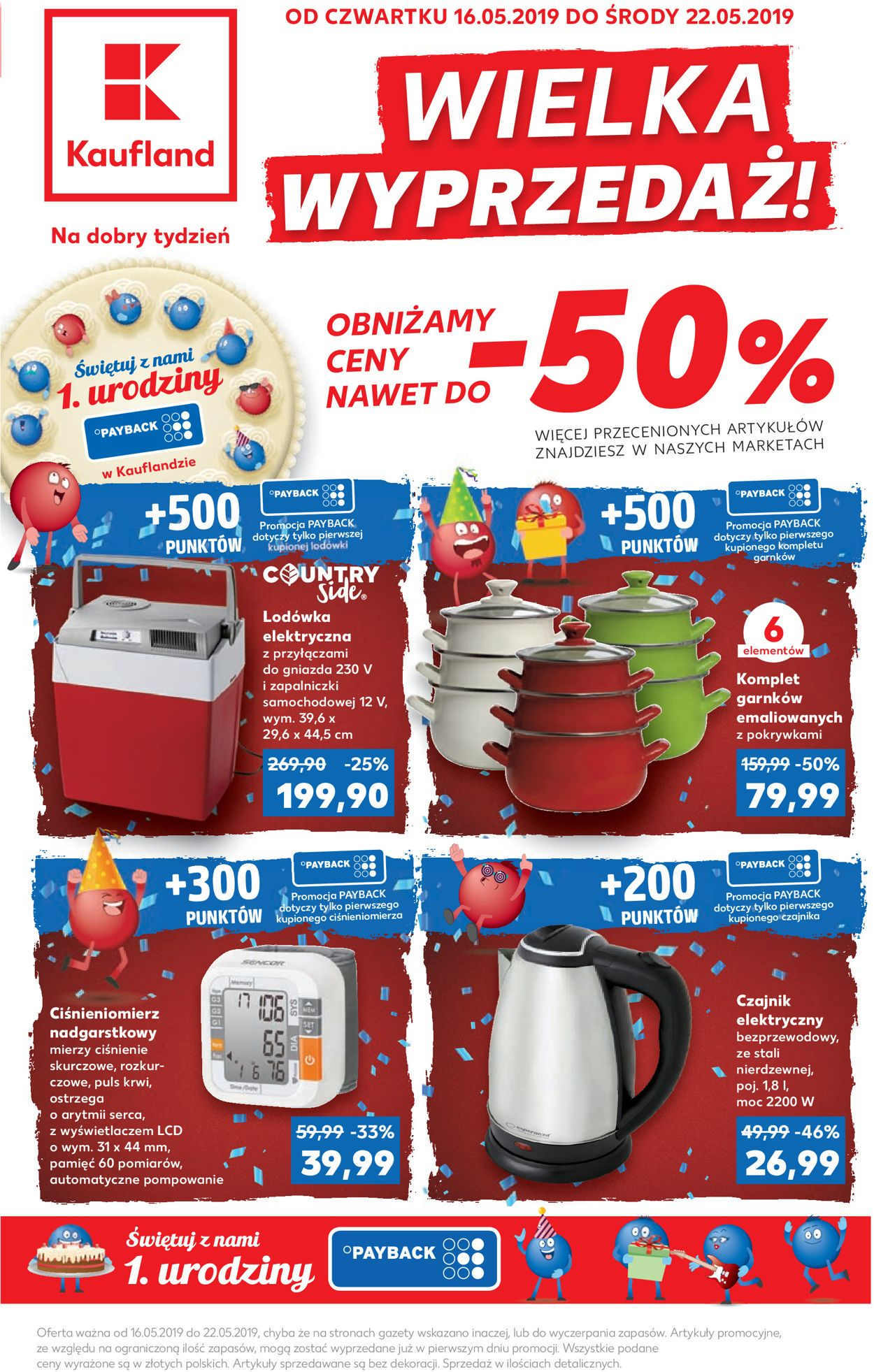 Gazetka promocyjna Kaufland - 16.05-22.05.2019