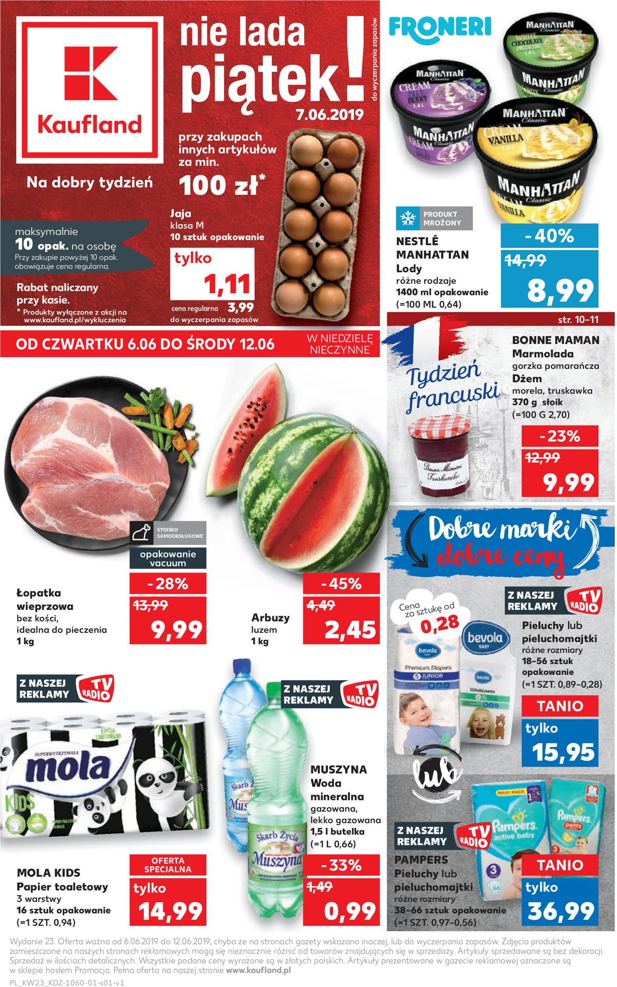 Gazetka promocyjna Kaufland - 06.06-12.06.2019