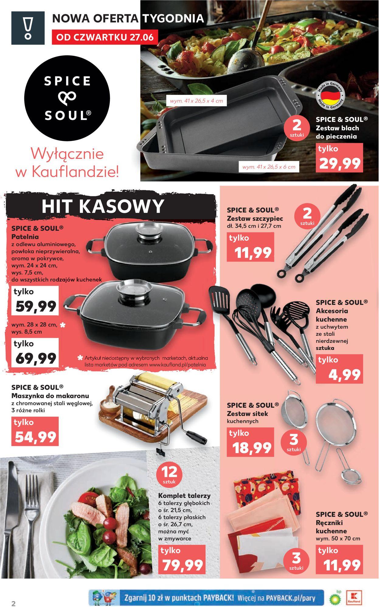 Gazetka promocyjna Kaufland - 27.06-03.07.2019 (Strona 2)