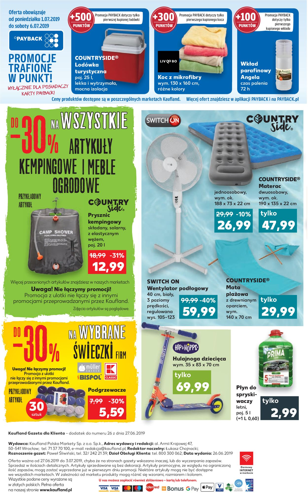 Gazetka promocyjna Kaufland - 27.06-03.07.2019 (Strona 8)