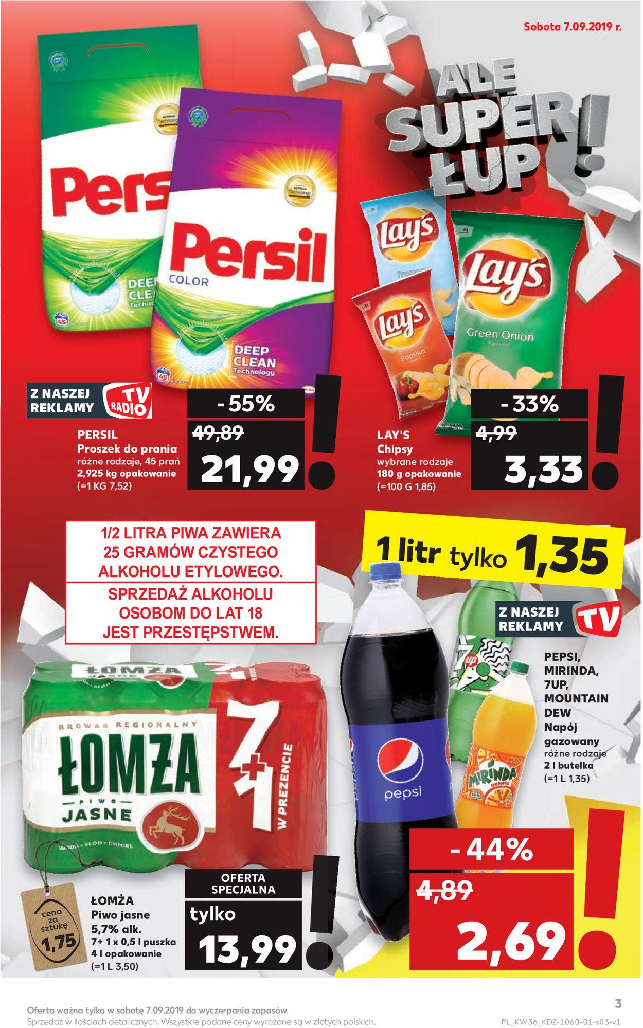 Gazetka promocyjna Kaufland - 05.09-11.09.2019 (Strona 3)