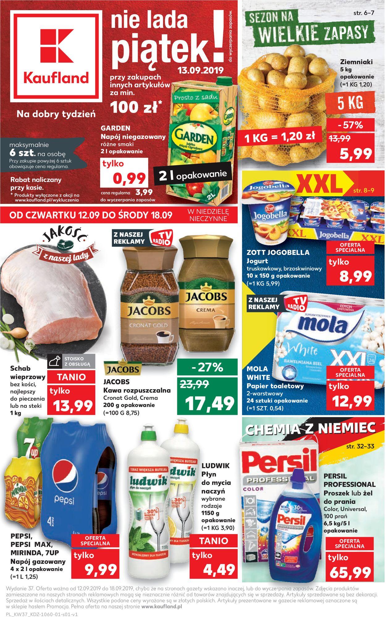 Gazetka promocyjna Kaufland - 12.09-18.09.2019