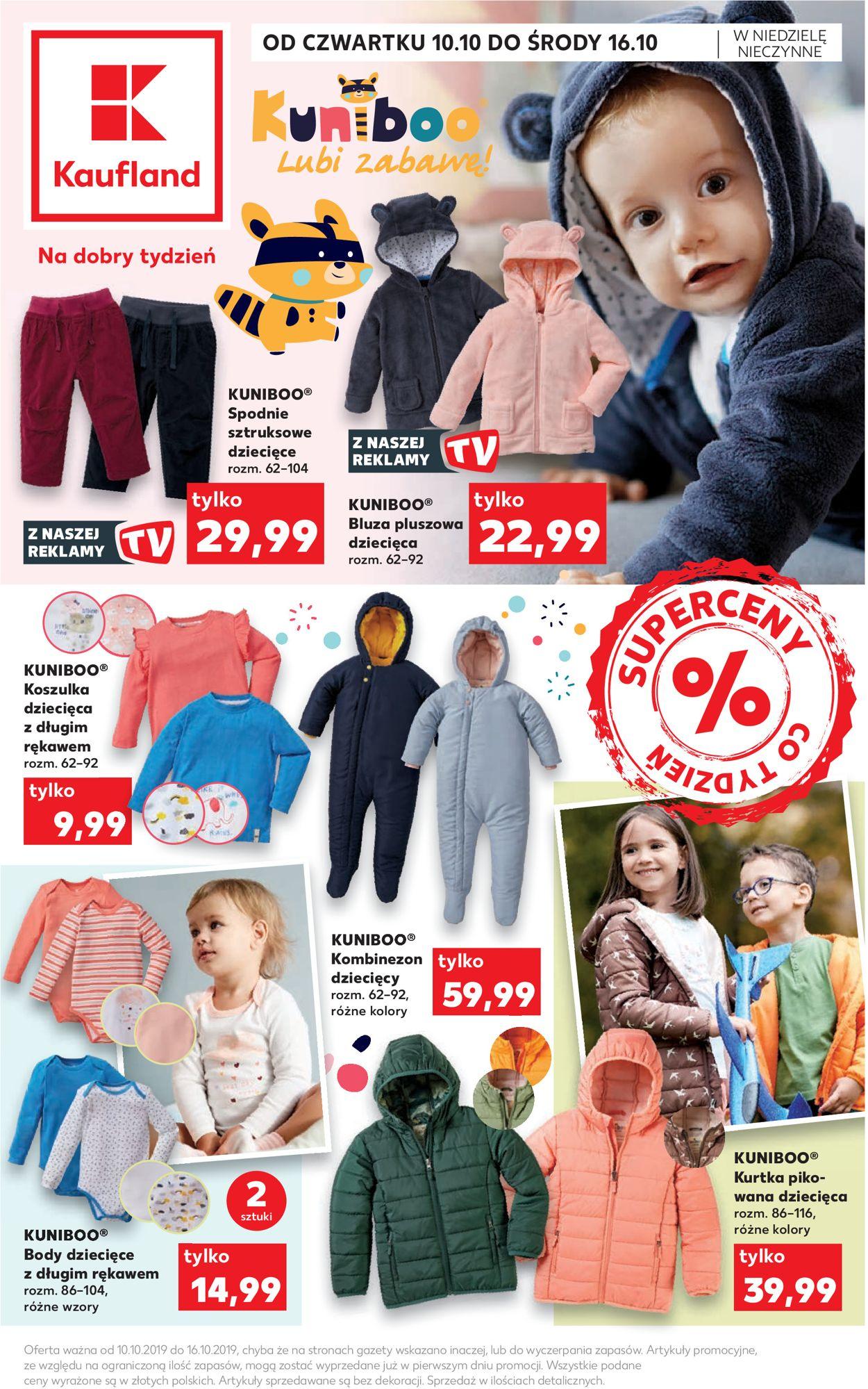 Gazetka promocyjna Kaufland - 10.10-16.10.2019