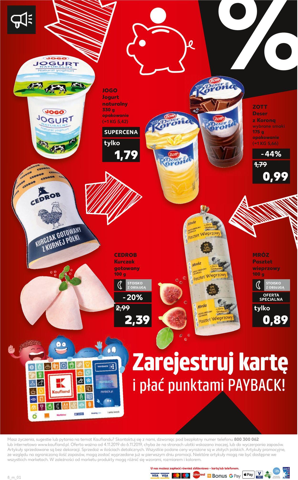 Gazetka promocyjna Kaufland - 04.11-06.11.2019 (Strona 8)