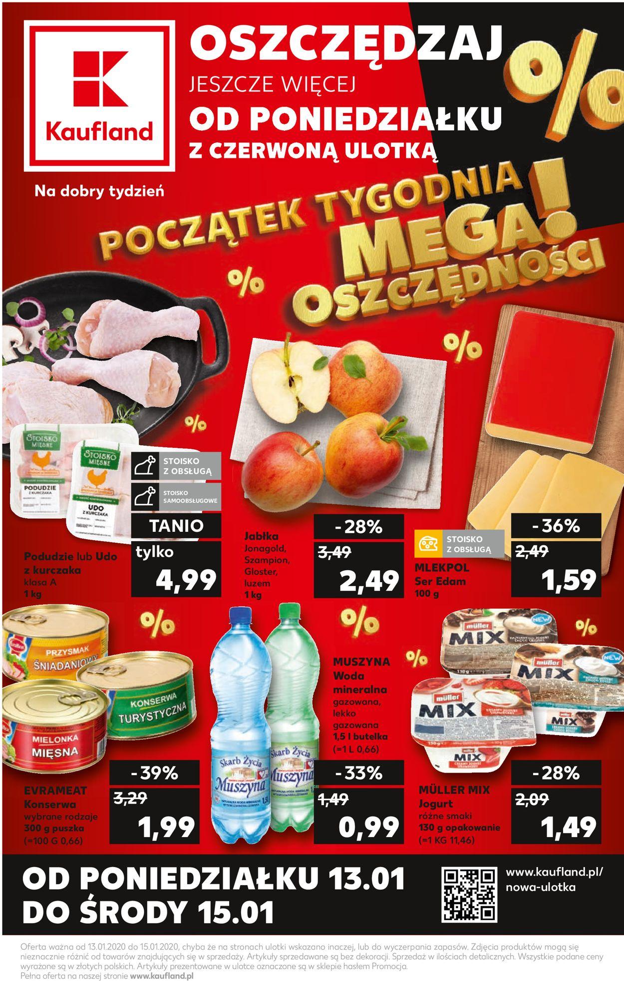 Gazetka promocyjna Kaufland - 13.01-15.01.2020