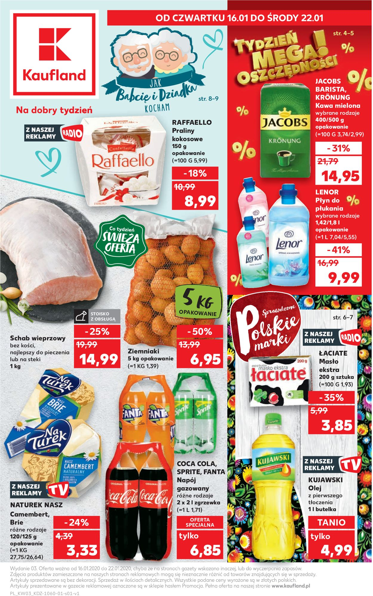 Gazetka promocyjna Kaufland - 16.01-22.01.2020