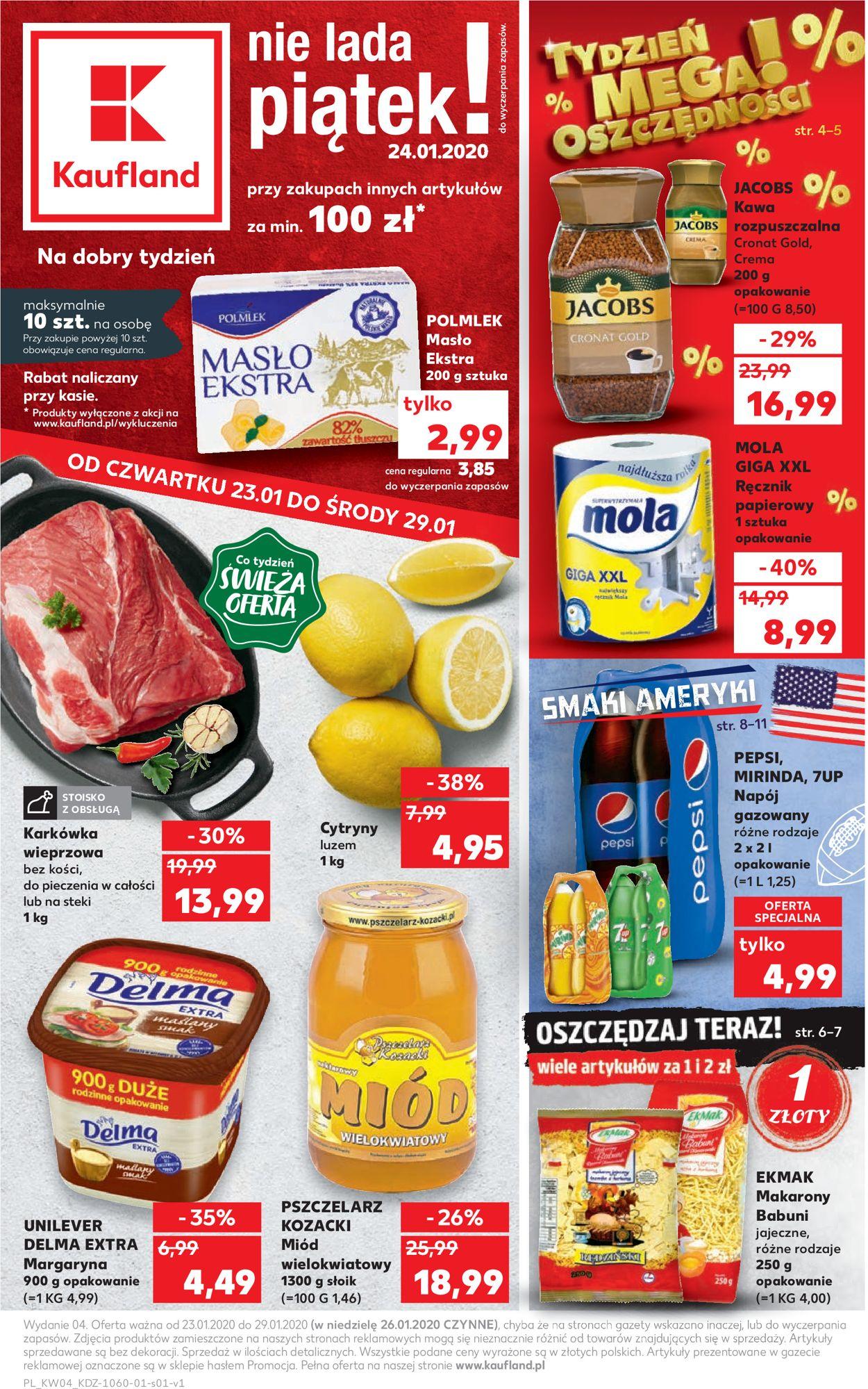 Gazetka promocyjna Kaufland - 23.01-29.01.2020