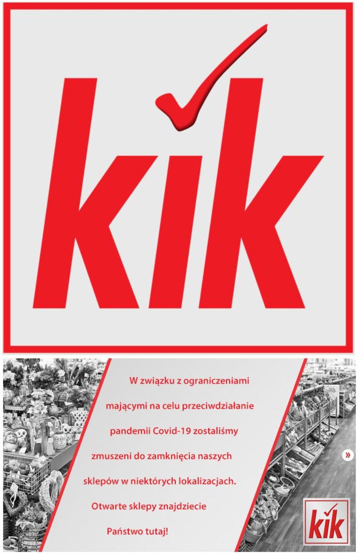Gazetka promocyjna Kik - 01.01-13.01.2021