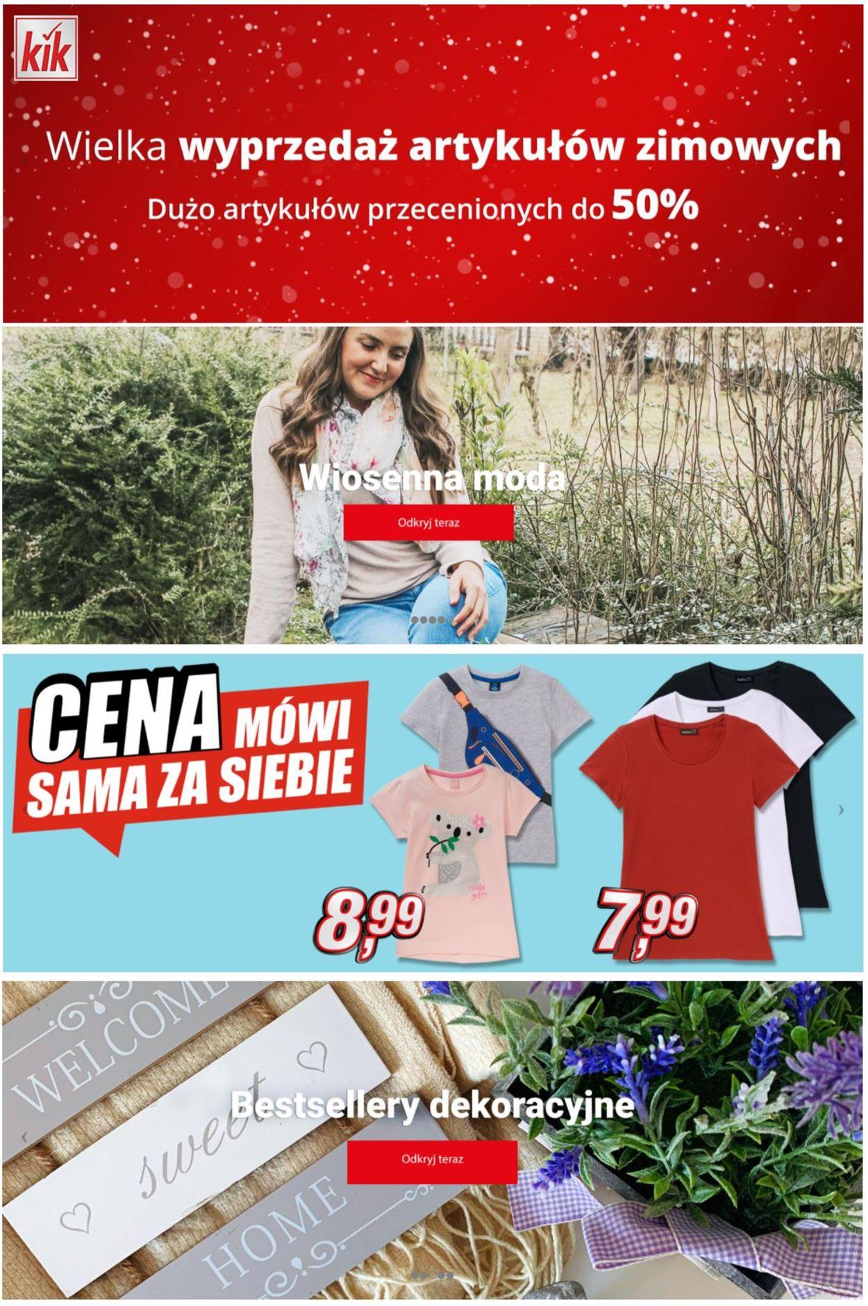 Gazetka promocyjna Kik - 09.03-29.03.2021