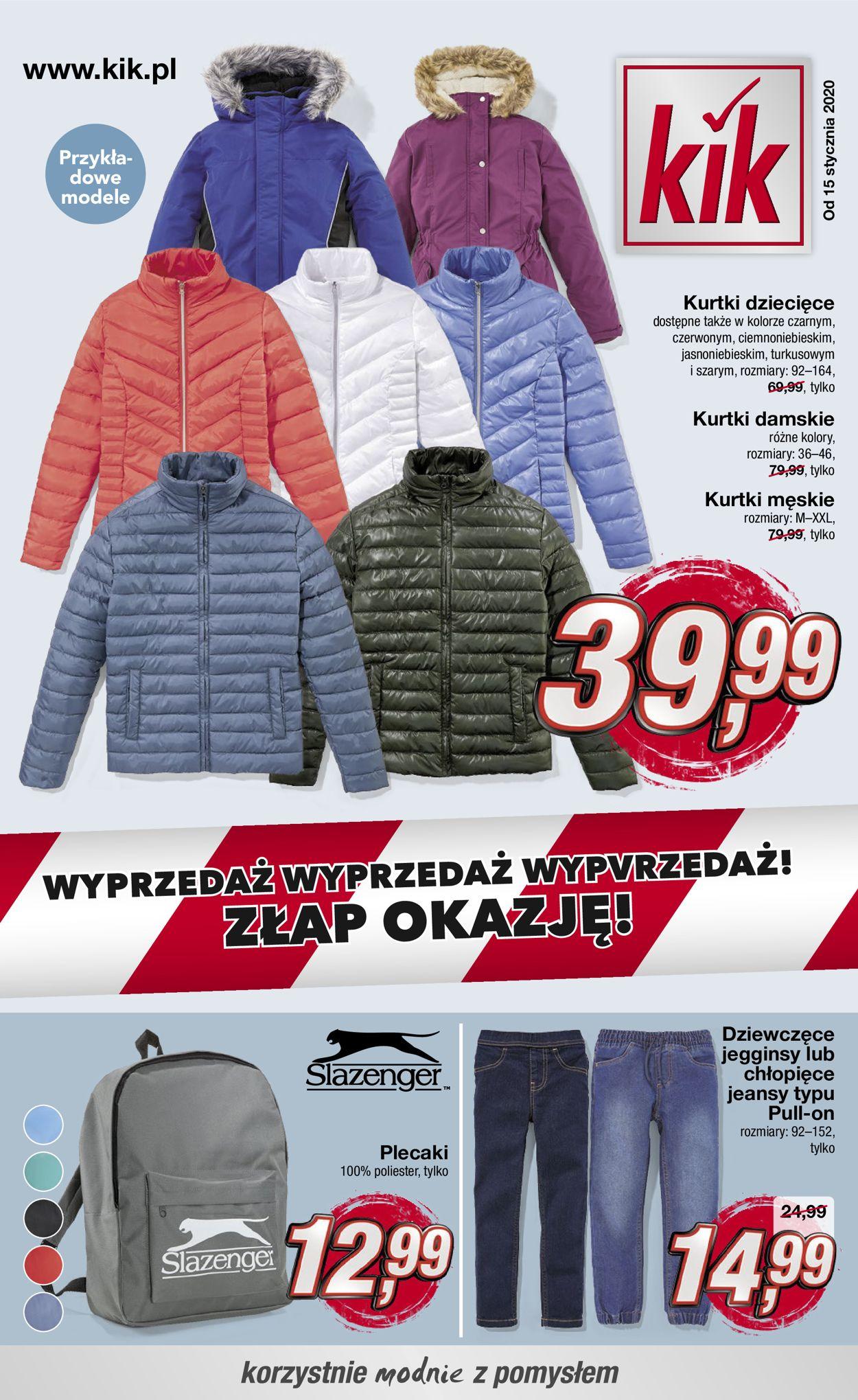 Gazetka promocyjna Kik - 15.01-21.02.2020