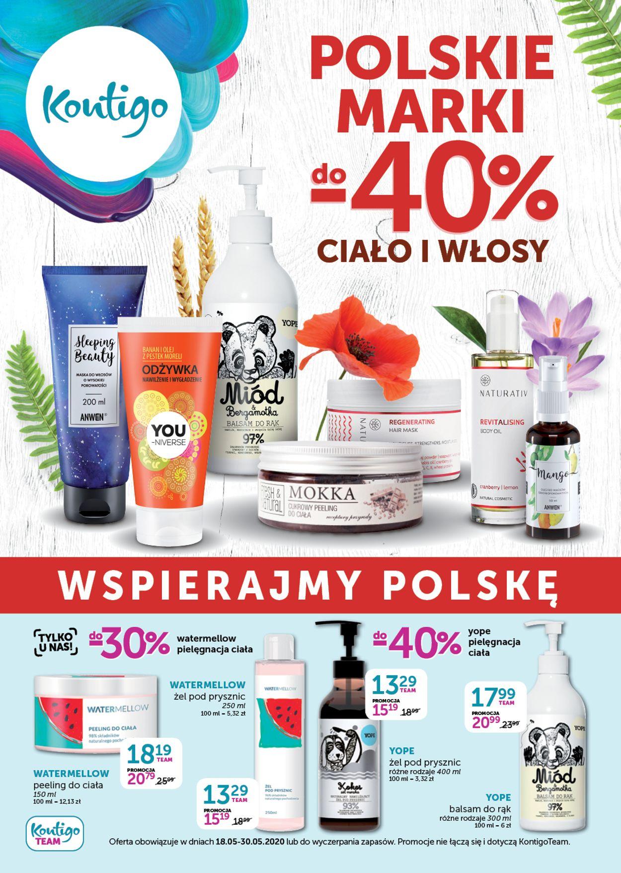 Gazetka promocyjna Kontigo - 18.05-30.05.2020