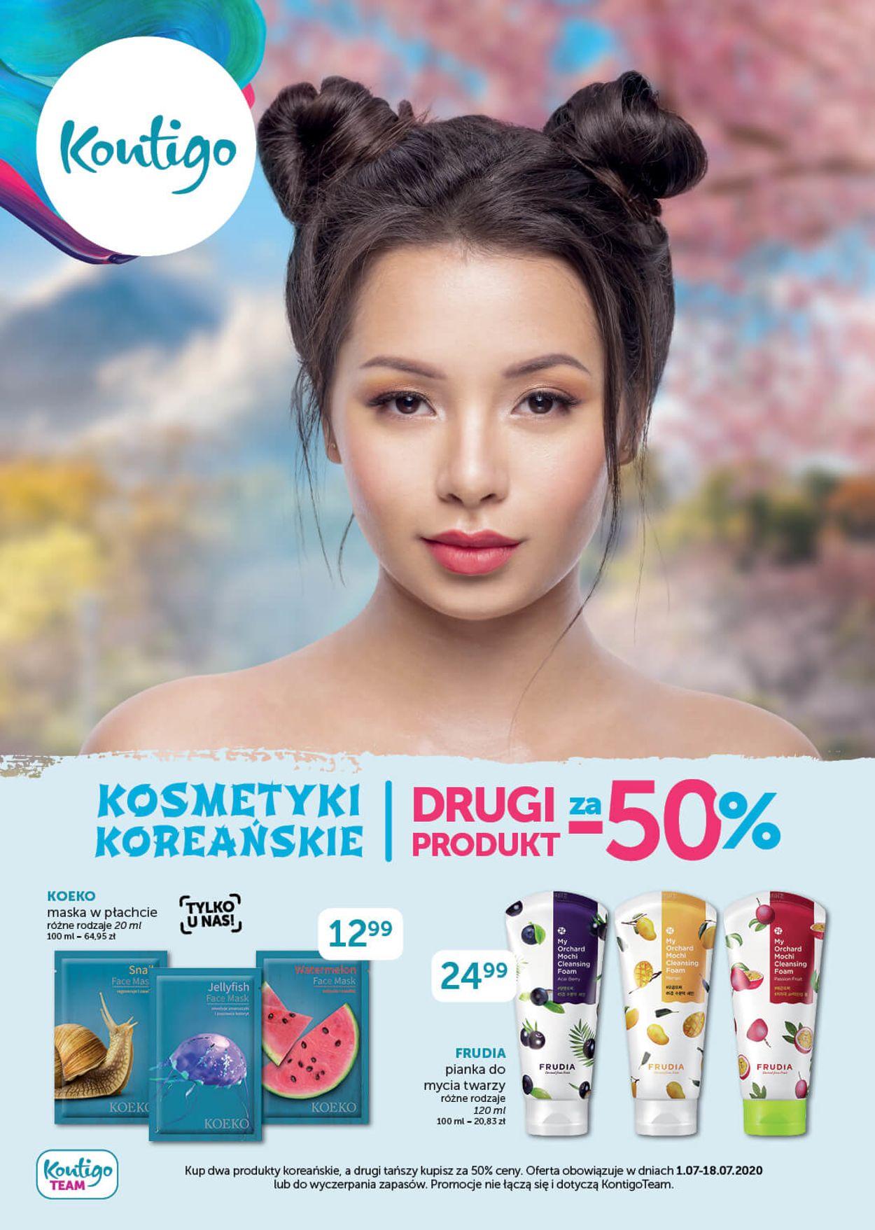 Gazetka promocyjna Kontigo - 01.07-18.07.2020