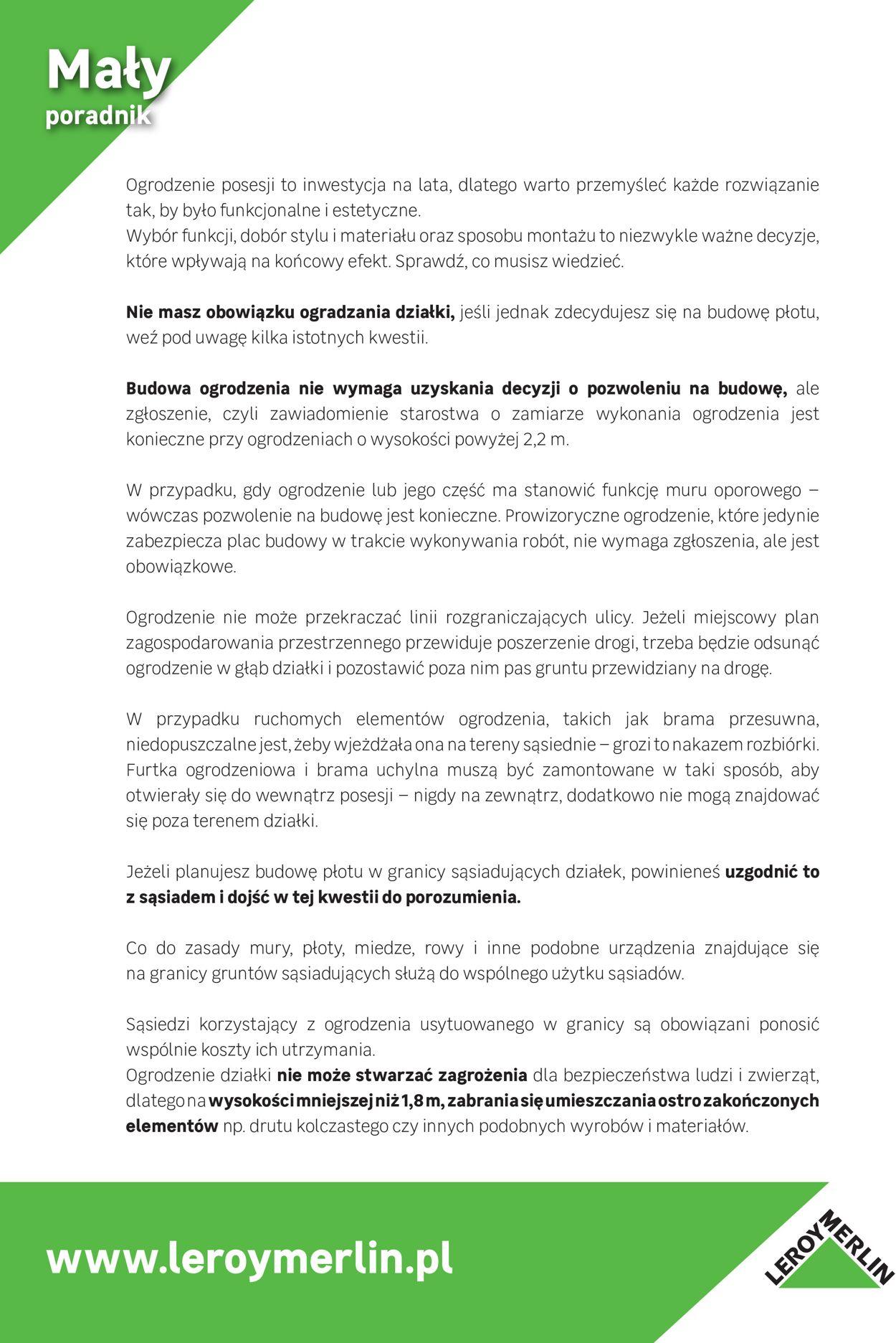 Gazetka promocyjna Leroy Merlin - 01.01-31.12.2020 (Strona 36)