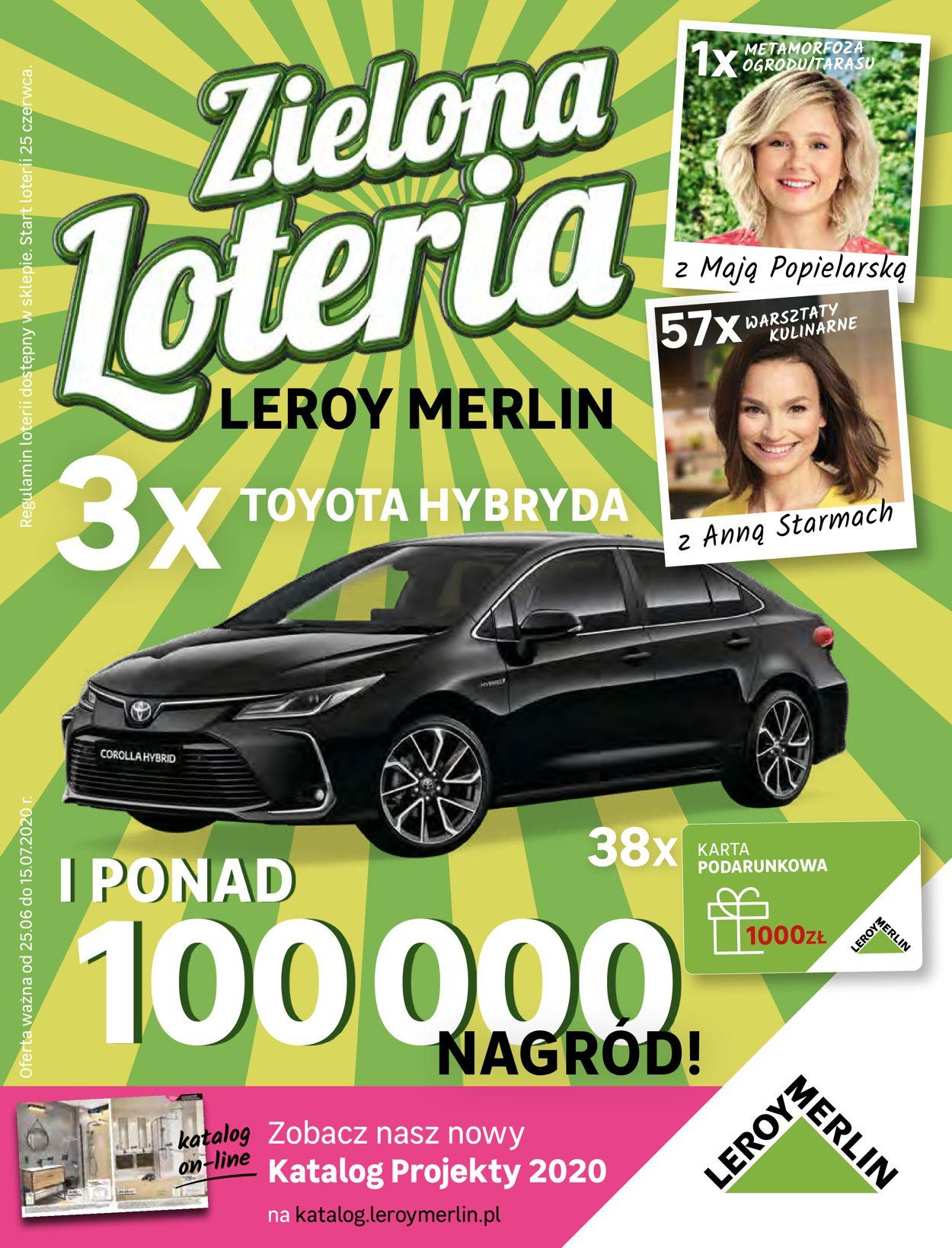 Gazetka promocyjna Leroy Merlin - 25.06-15.07.2020
