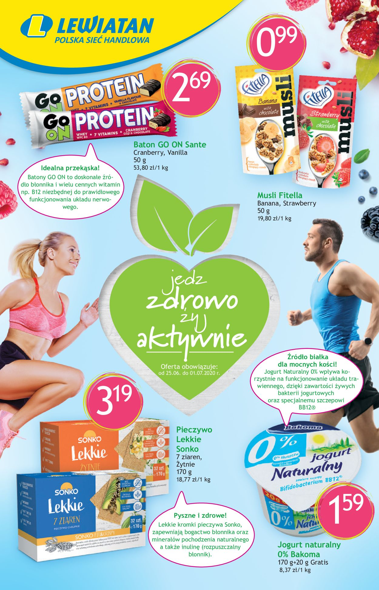 Gazetka promocyjna Lewiatan - 25.06-01.07.2020
