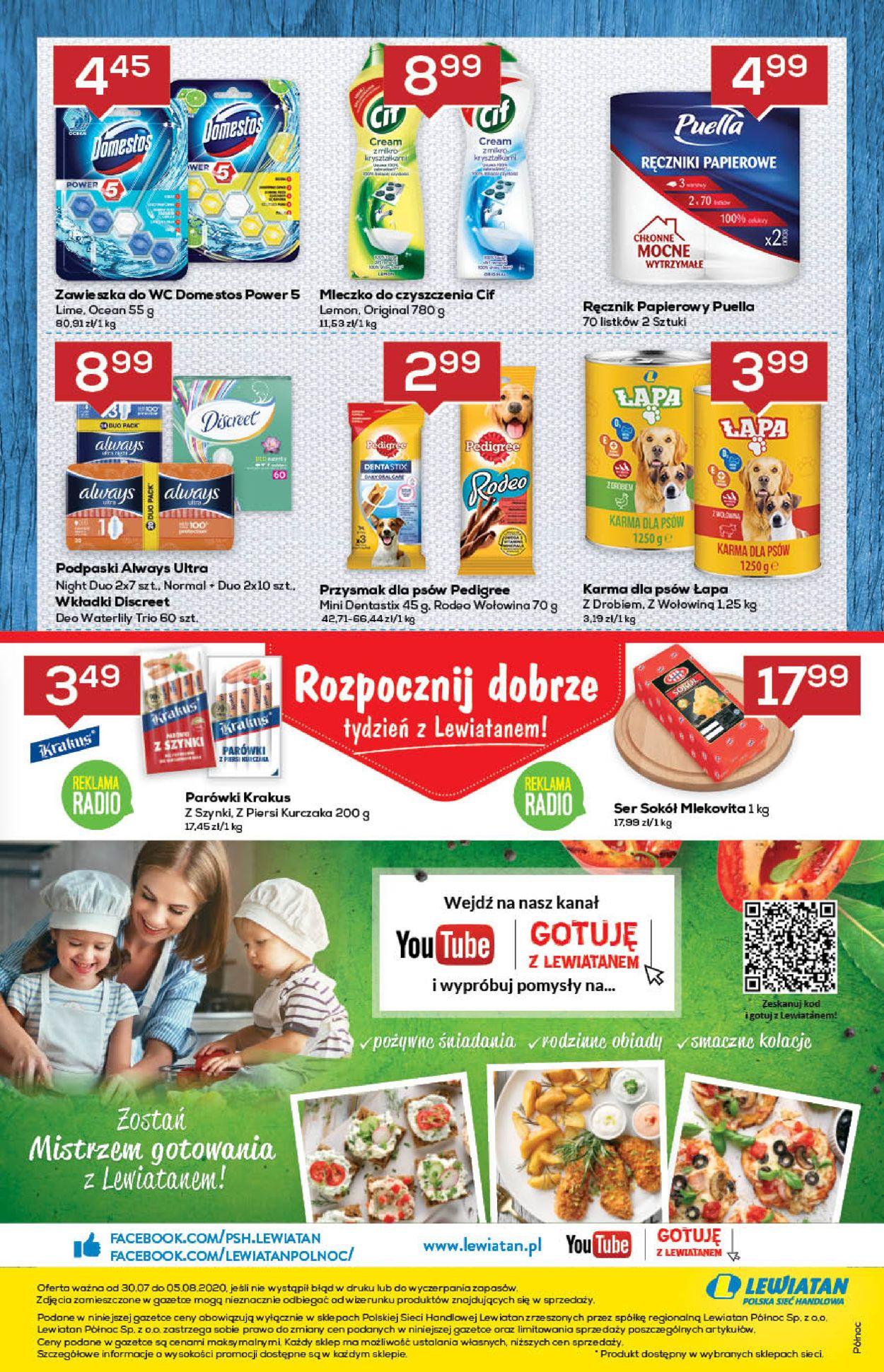 Gazetka promocyjna Lewiatan - 30.07-05.08.2020 (Strona 8)