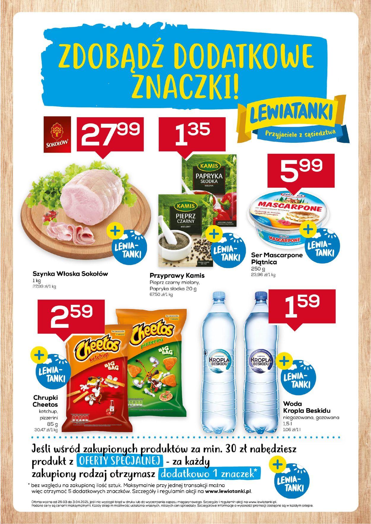 Gazetka promocyjna Lewiatan - Mazowsze - 25.03-03.04.2021
