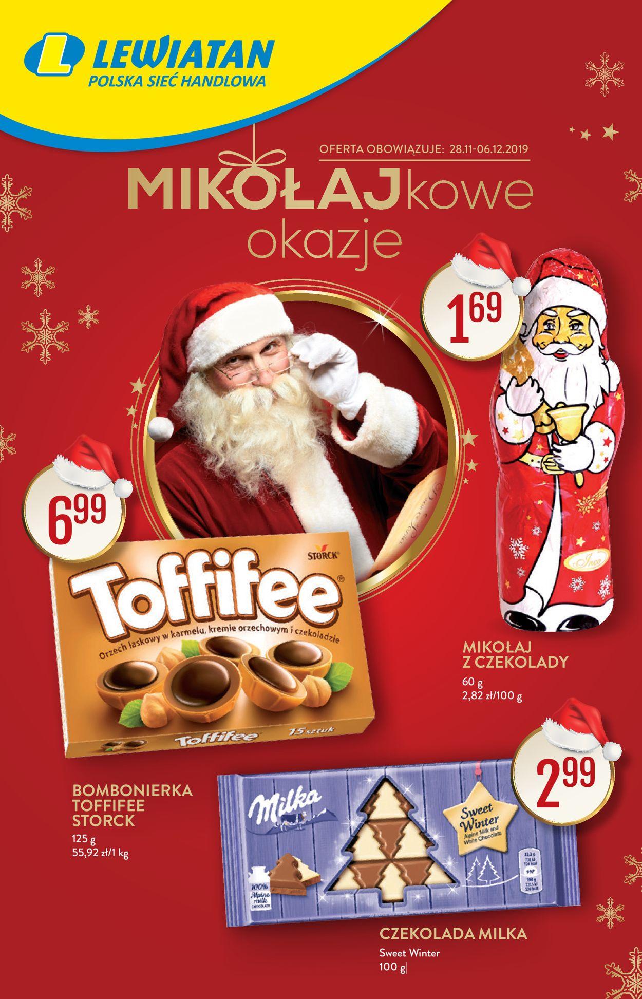 Gazetka promocyjna Lewiatan - Mikołajki 2019 - 28.11-06.12.2019