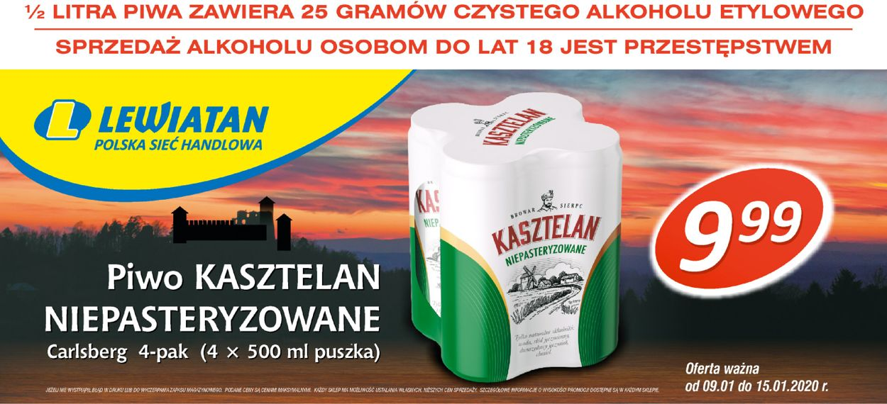 Gazetka promocyjna Lewiatan - 09.01-15.01.2020 (Strona 3)
