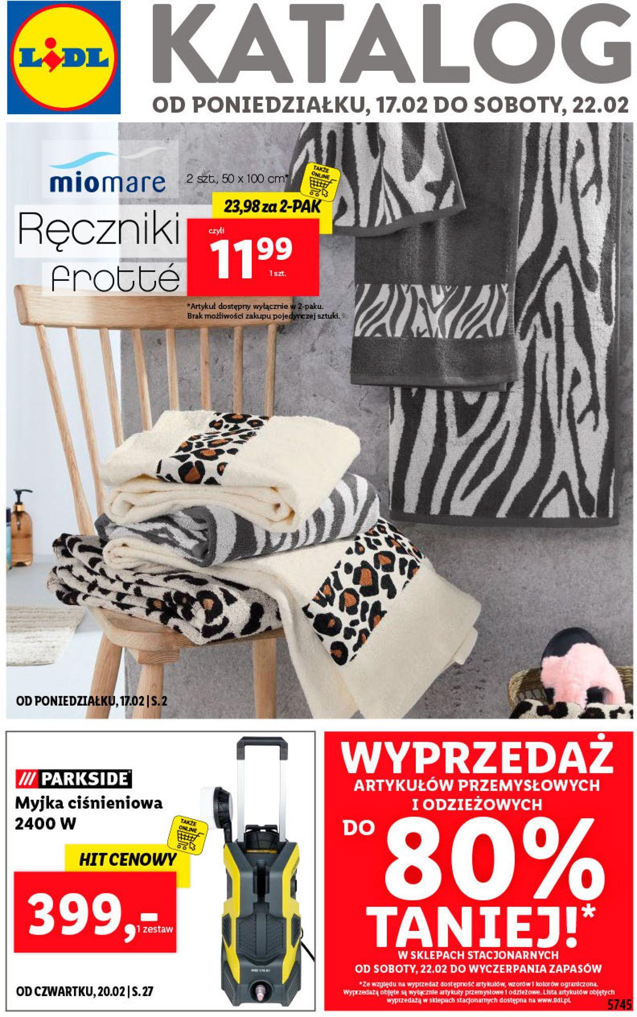 Gazetka promocyjna LIDL - 17.02-22.02.2020