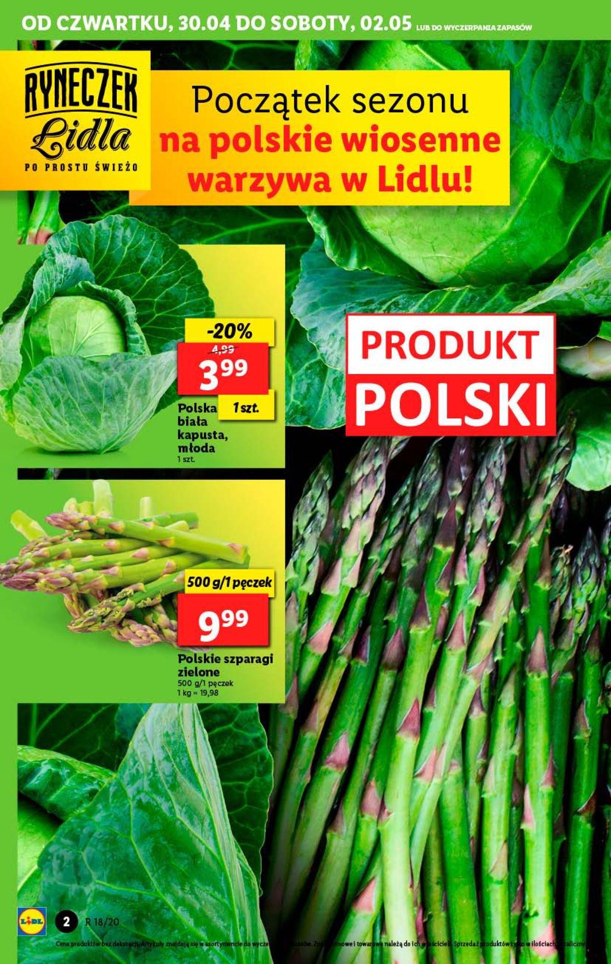 Gazetka promocyjna LIDL - 30.04-02.05.2020 (Strona 2)