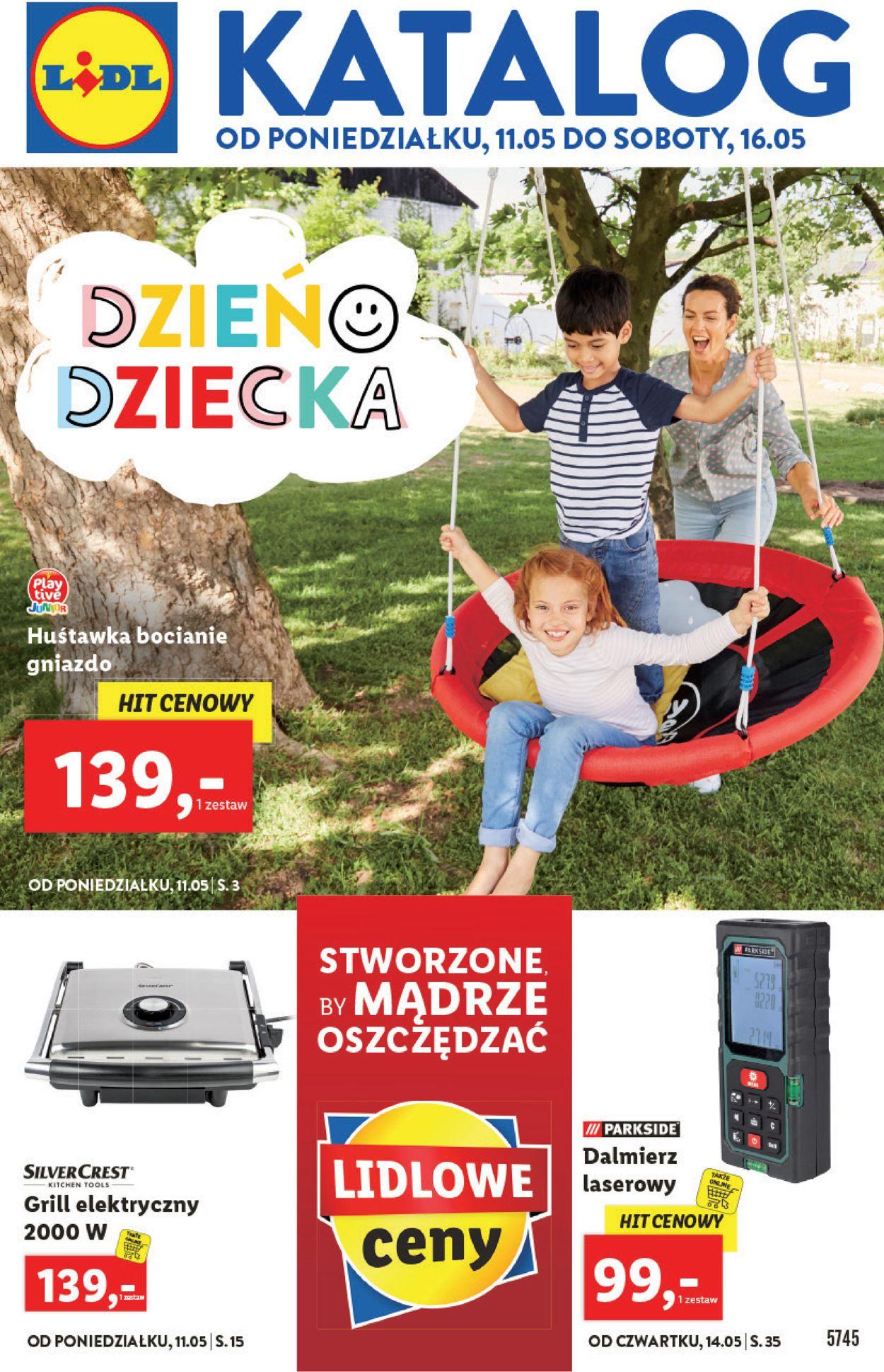 Gazetka promocyjna LIDL - 11.05-16.05.2020