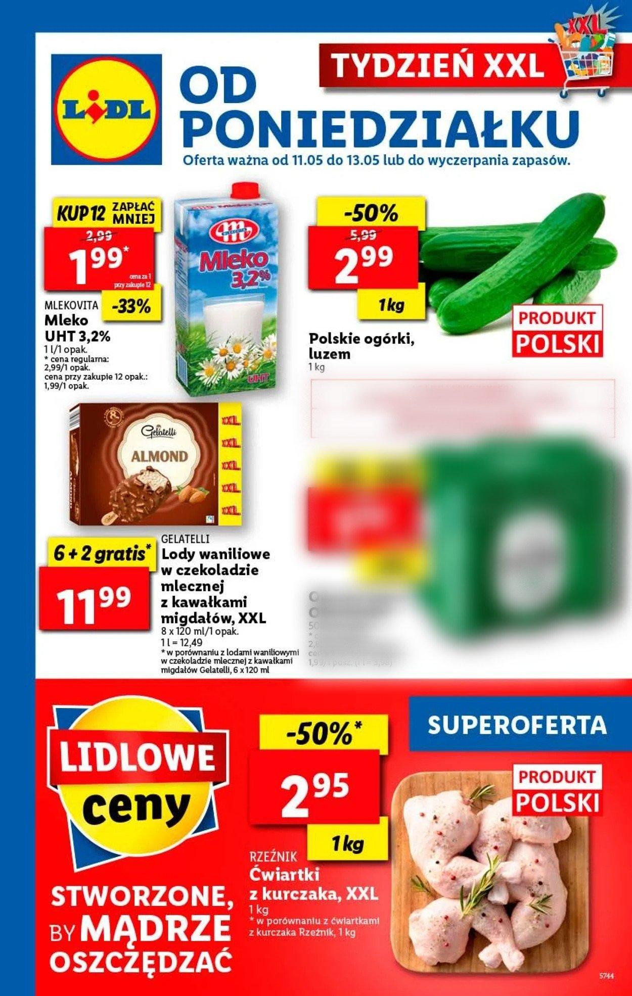 Gazetka promocyjna LIDL - 11.05-13.05.2020