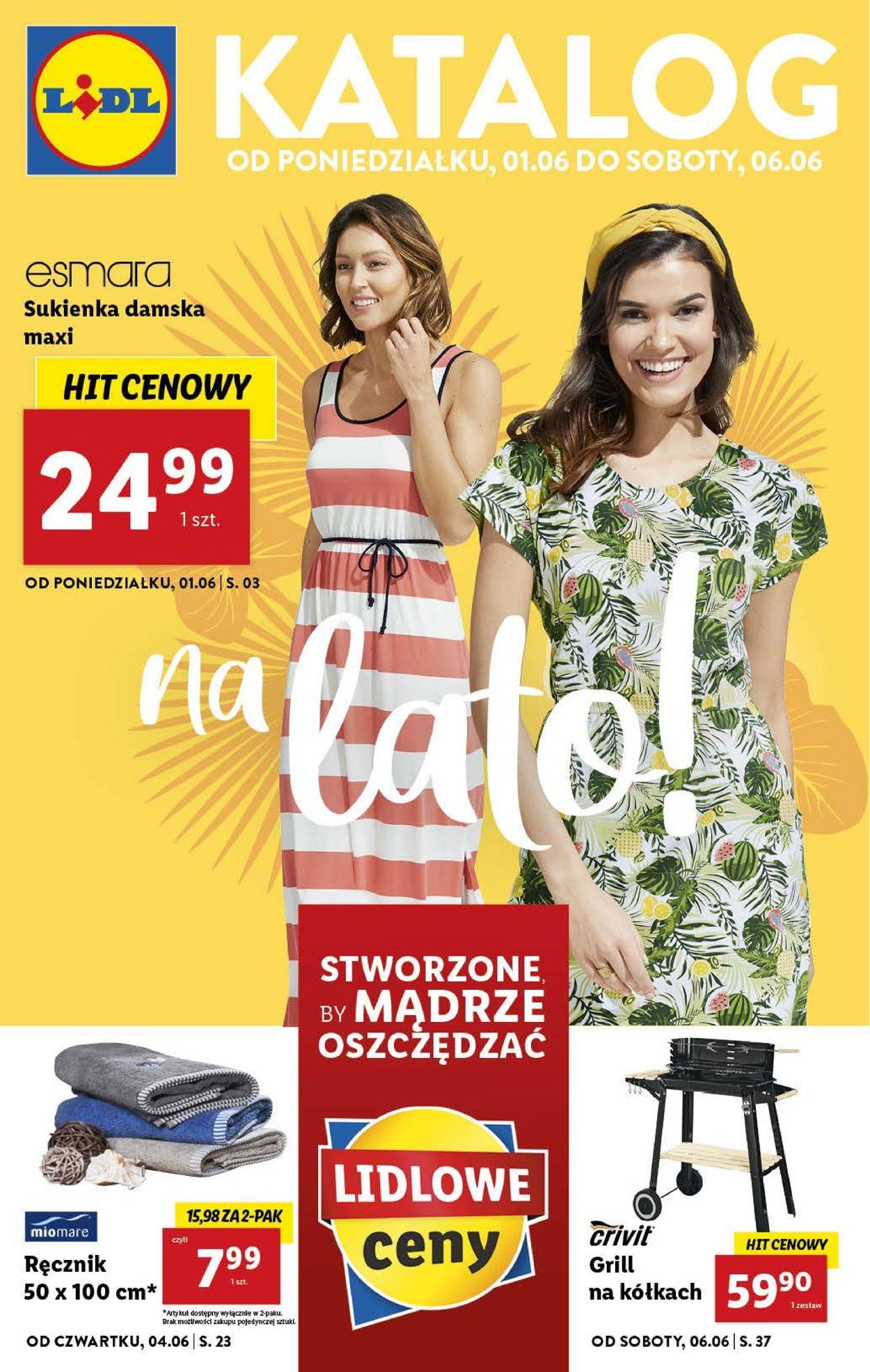 Gazetka promocyjna LIDL - 01.06-06.06.2020