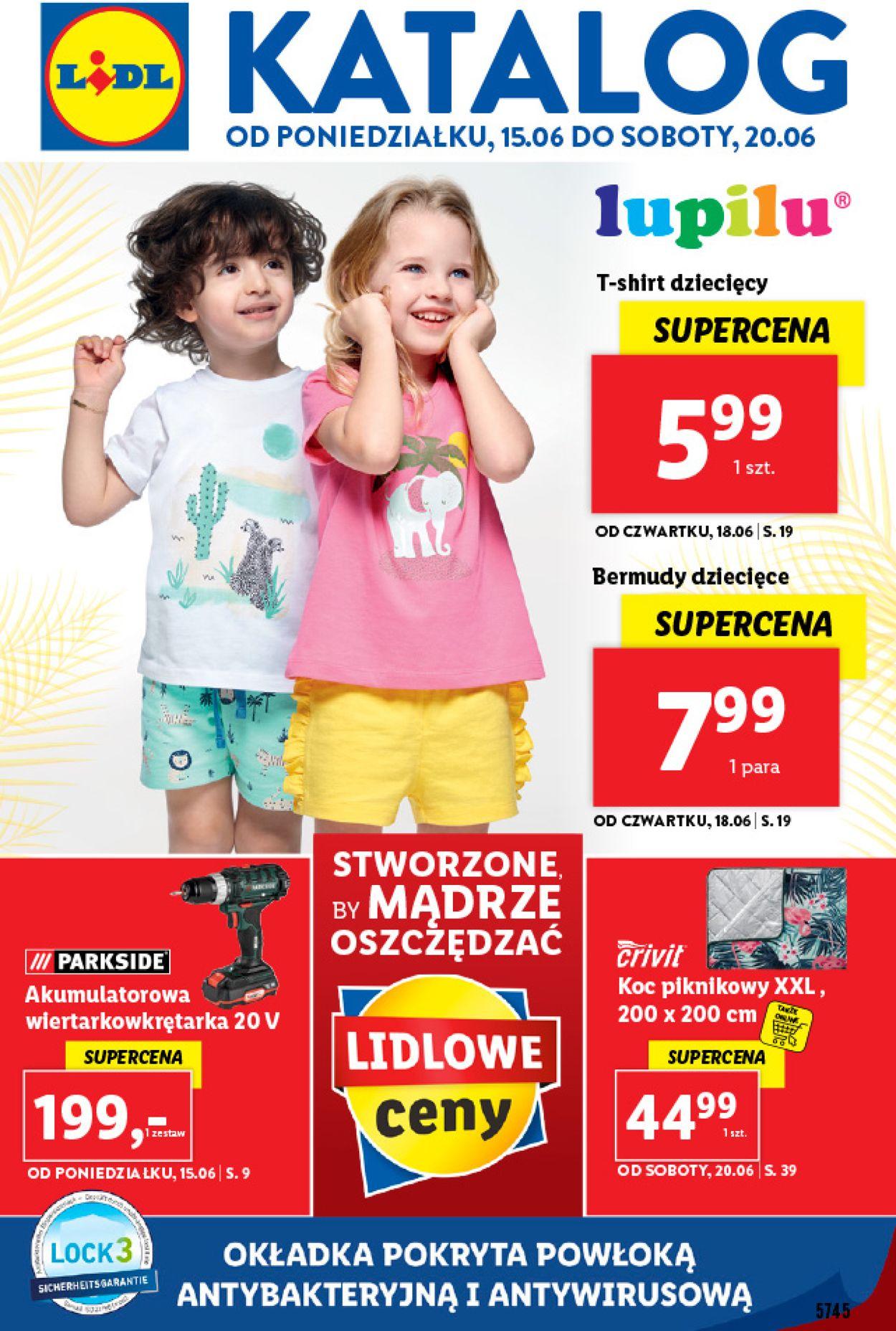 Gazetka promocyjna LIDL - 15.06-20.06.2020