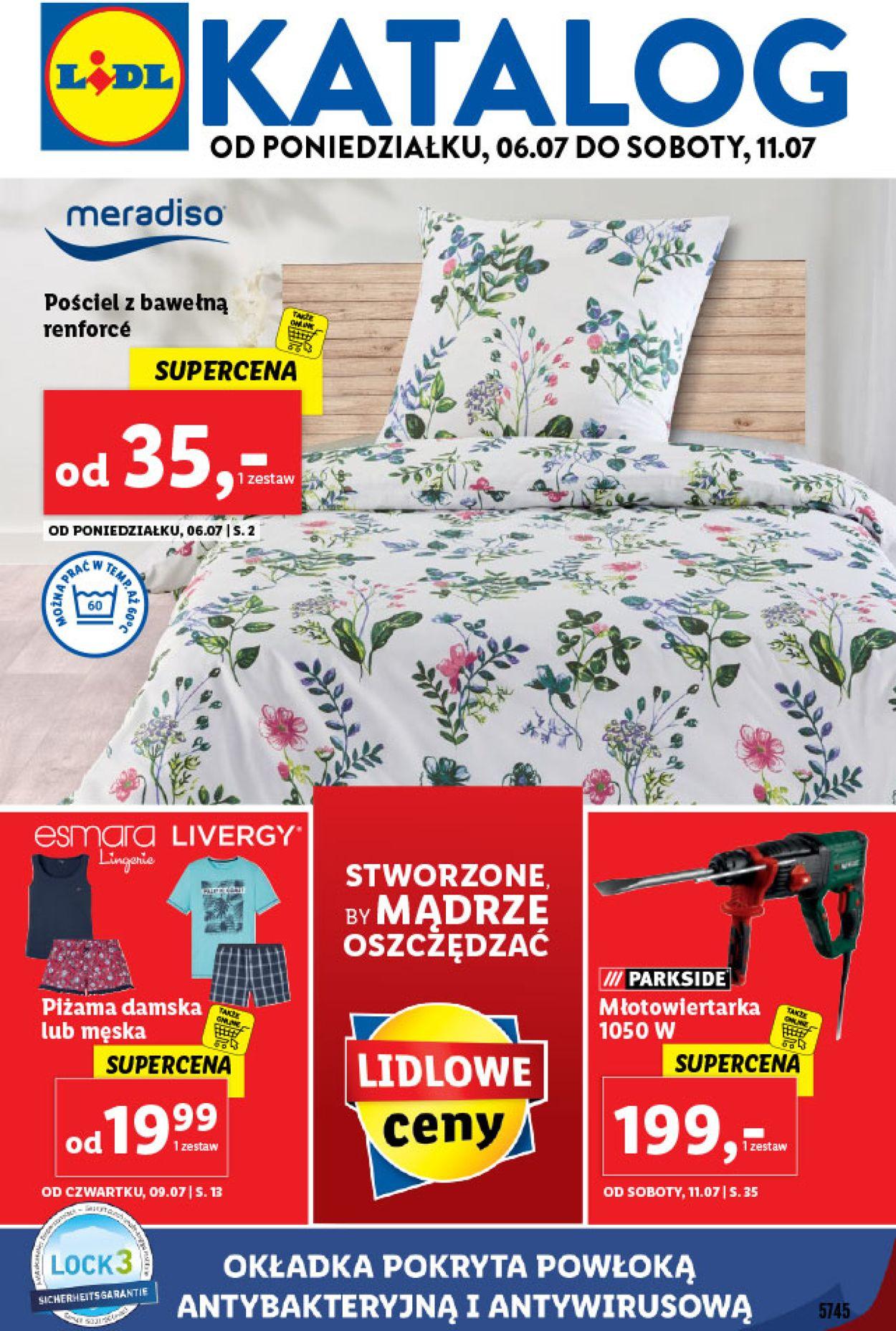 Gazetka promocyjna LIDL - 06.07-11.07.2020