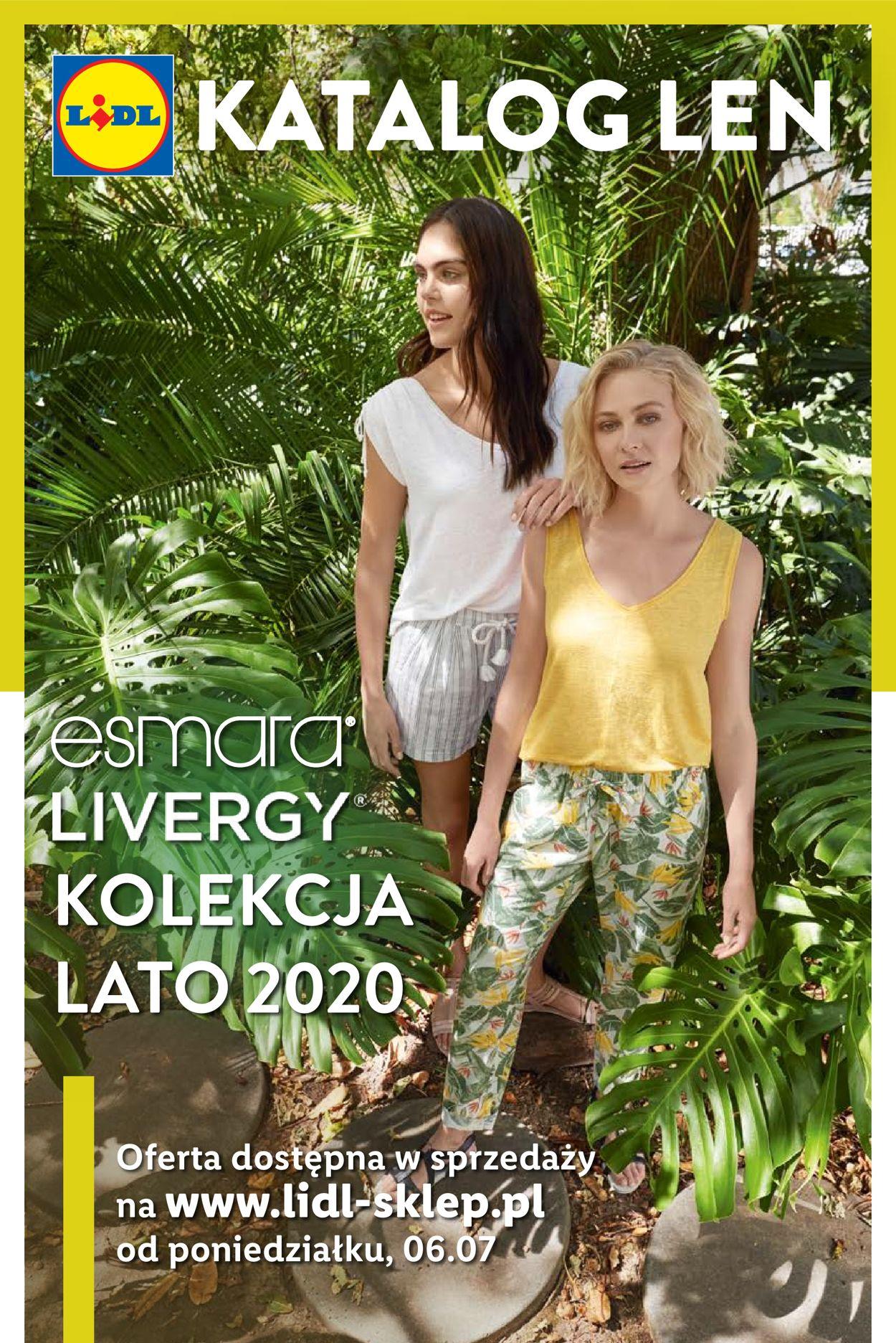 Gazetka promocyjna LIDL - 06.07-31.07.2020