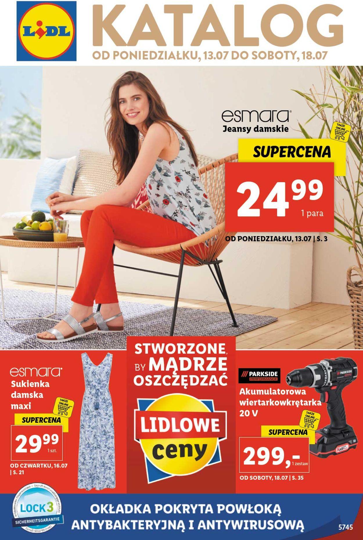 Gazetka promocyjna LIDL - 13.07-18.07.2020
