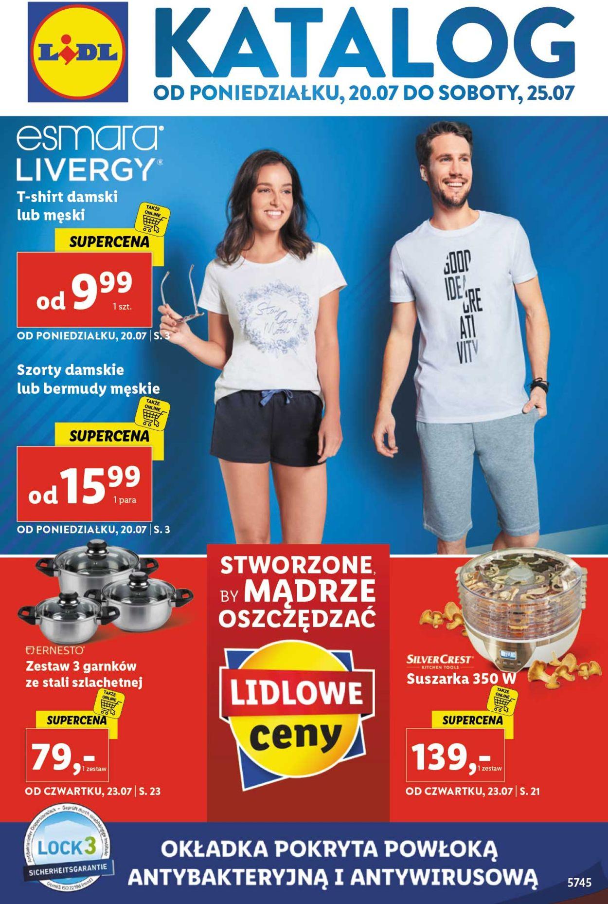 Gazetka promocyjna LIDL - 20.07-25.07.2020