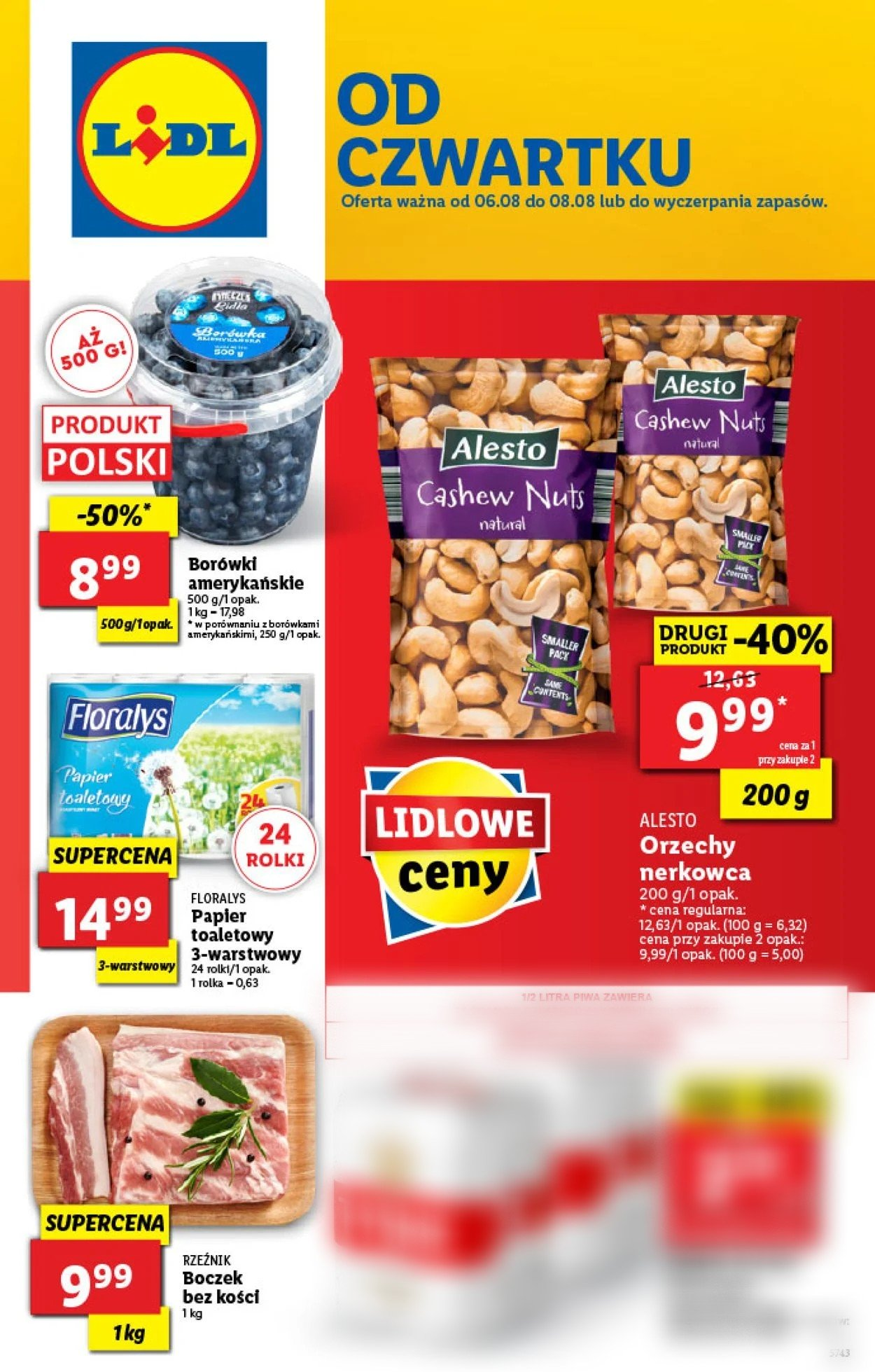 Gazetka promocyjna LIDL - 06.08-08.08.2020