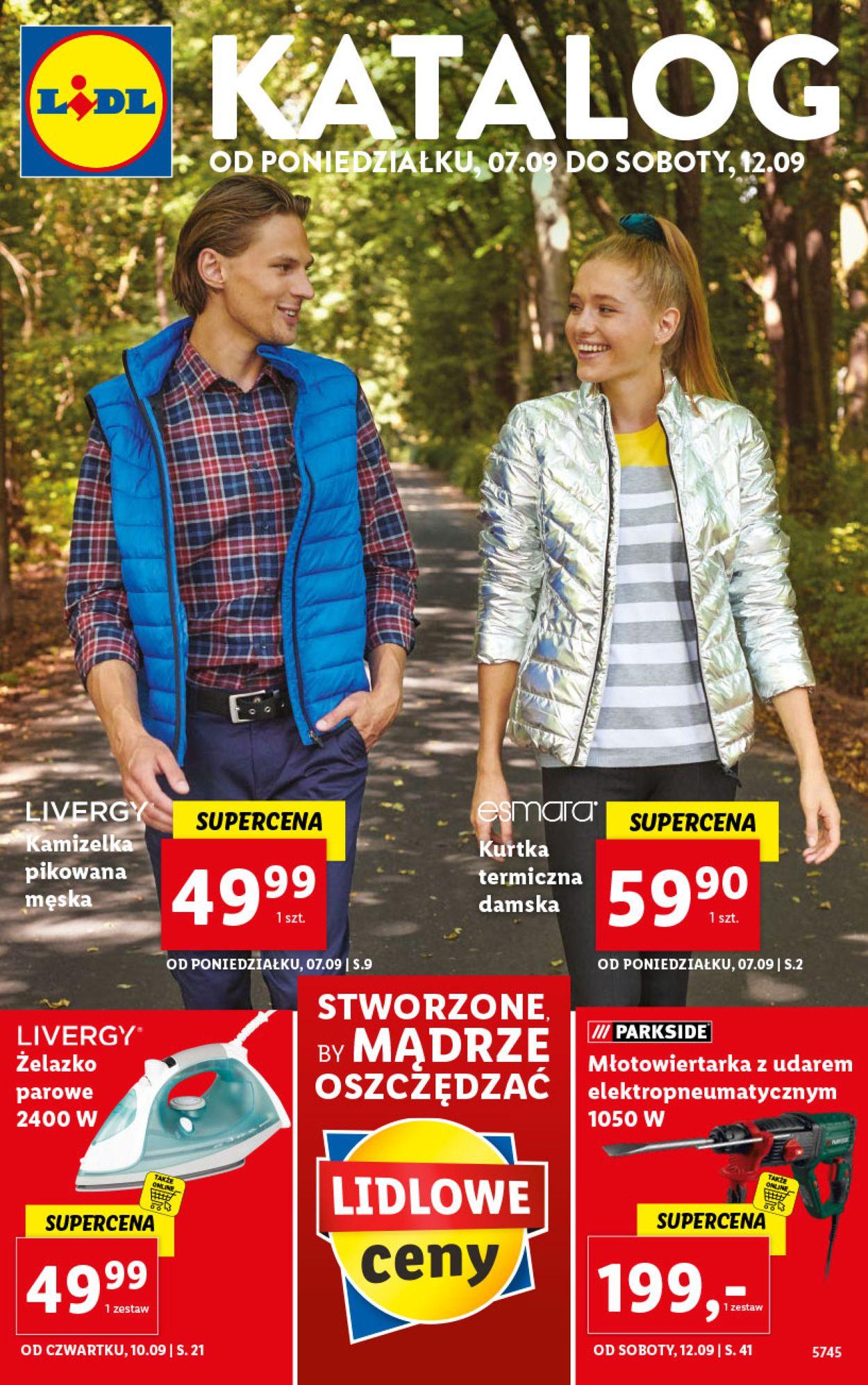 Gazetka promocyjna LIDL - 07.09-12.09.2020