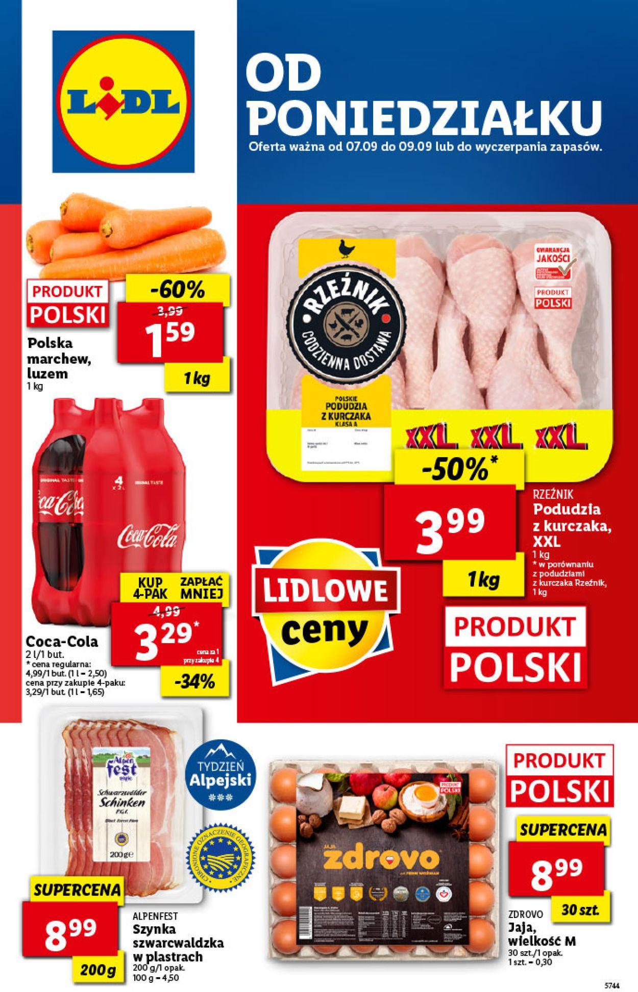 Gazetka promocyjna LIDL - 07.09-09.09.2020