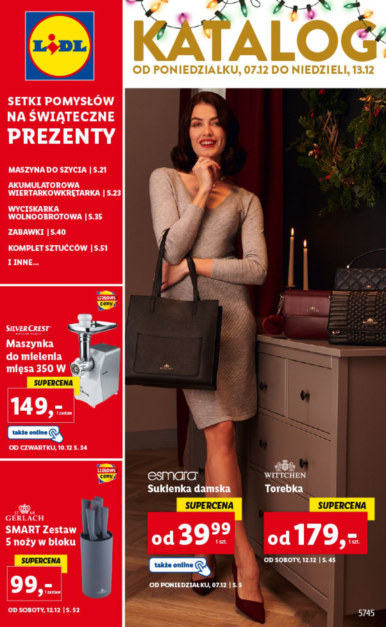Gazetka promocyjna LIDL Gazetka Świąteczna 2020 - 07.12-13.12.2020