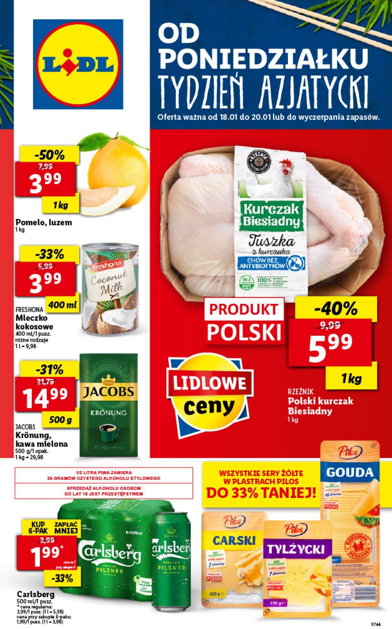 Gazetka promocyjna LIDL Dzień Babci i Dziadka 2021 - 18.01-20.01.2021