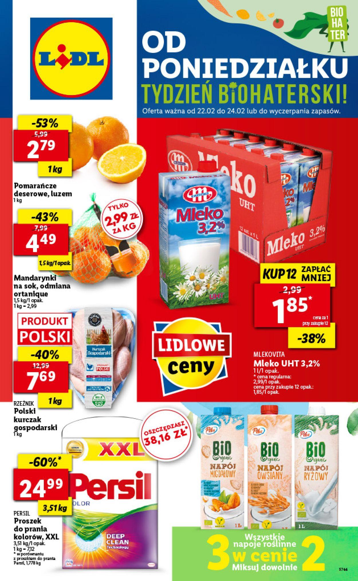 Gazetka promocyjna LIDL - 22.02-24.02.2021
