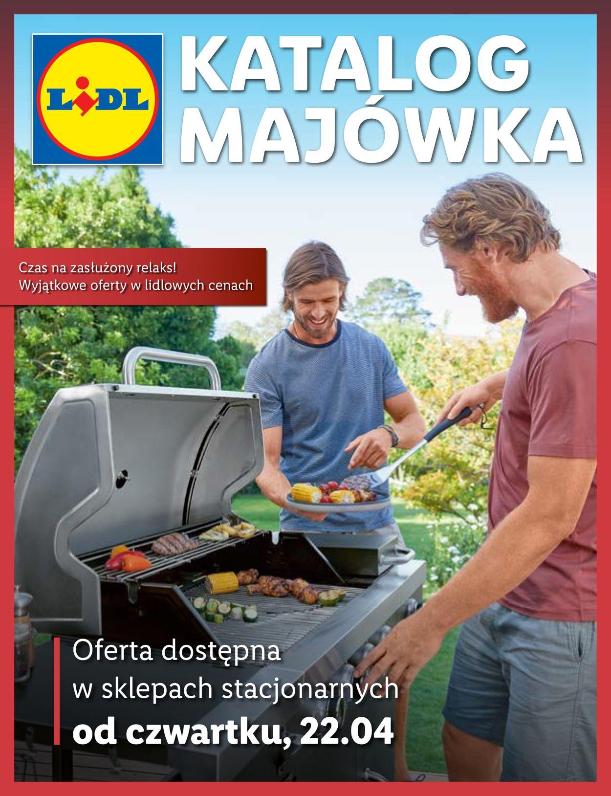 Gazetka promocyjna LIDL MAJÓWKA 2021 - 22.04-03.05.2021
