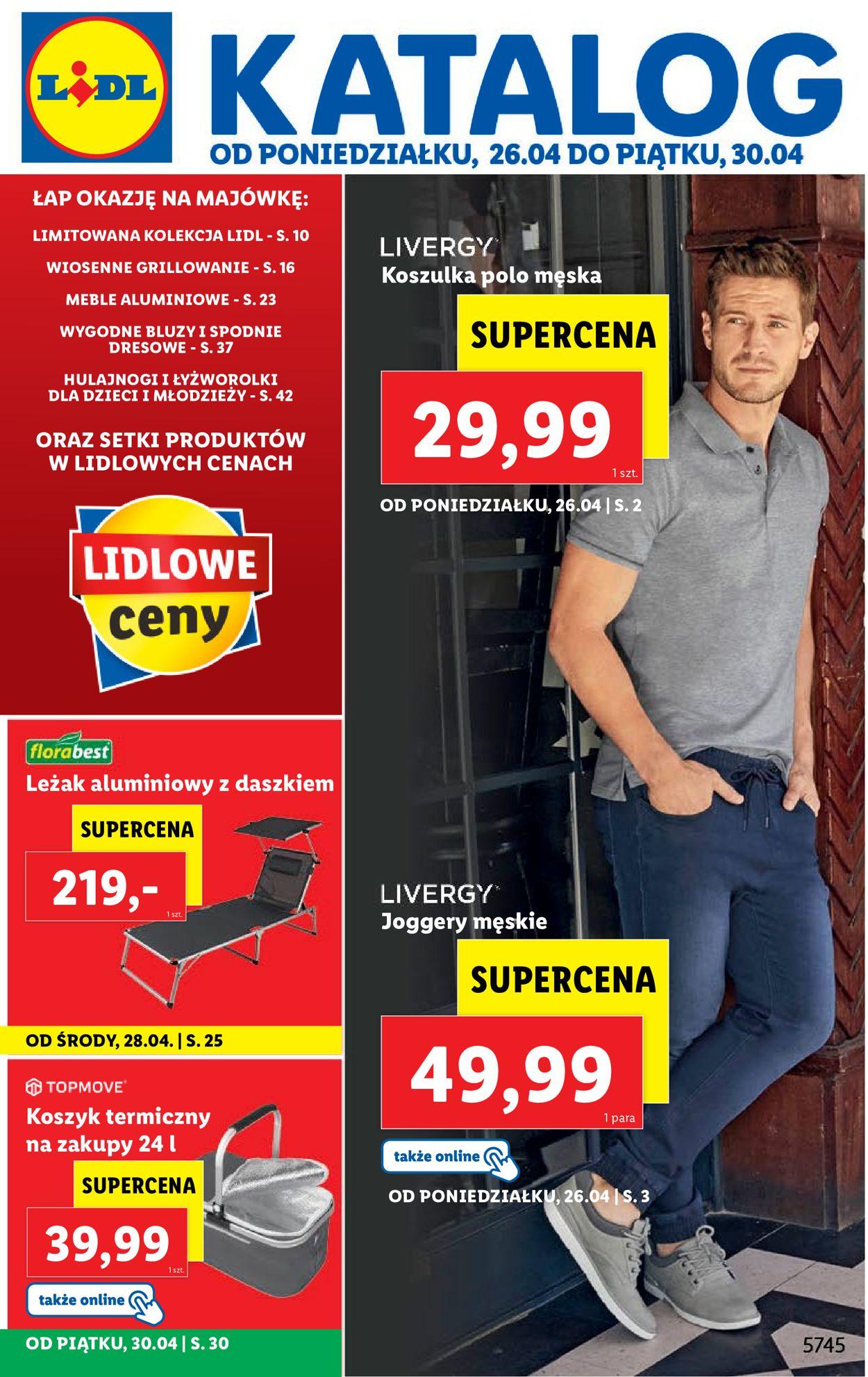 Gazetka promocyjna LIDL - 26.04-30.04.2021