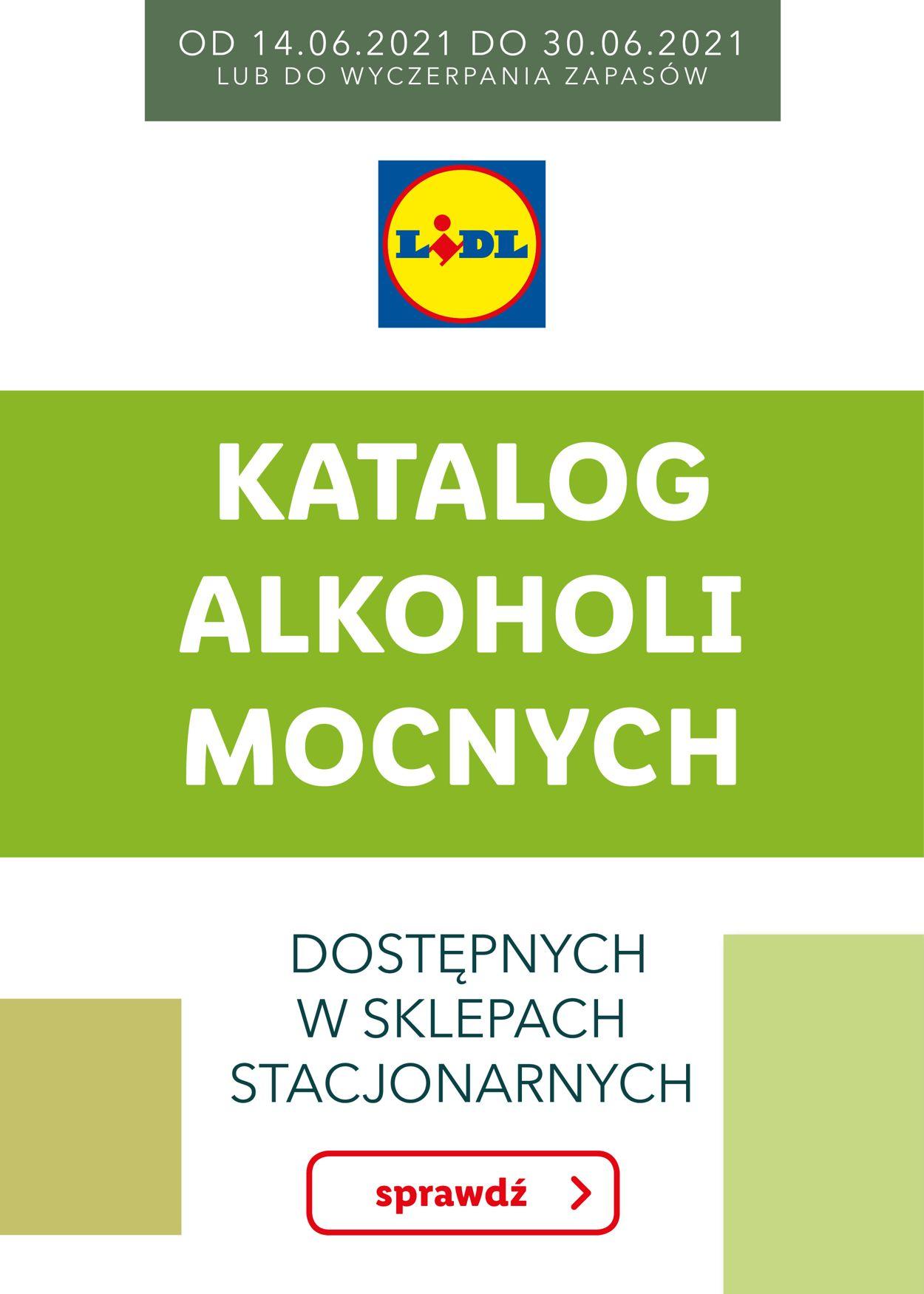 Gazetka promocyjna LIDL - 14.06-30.06.2021