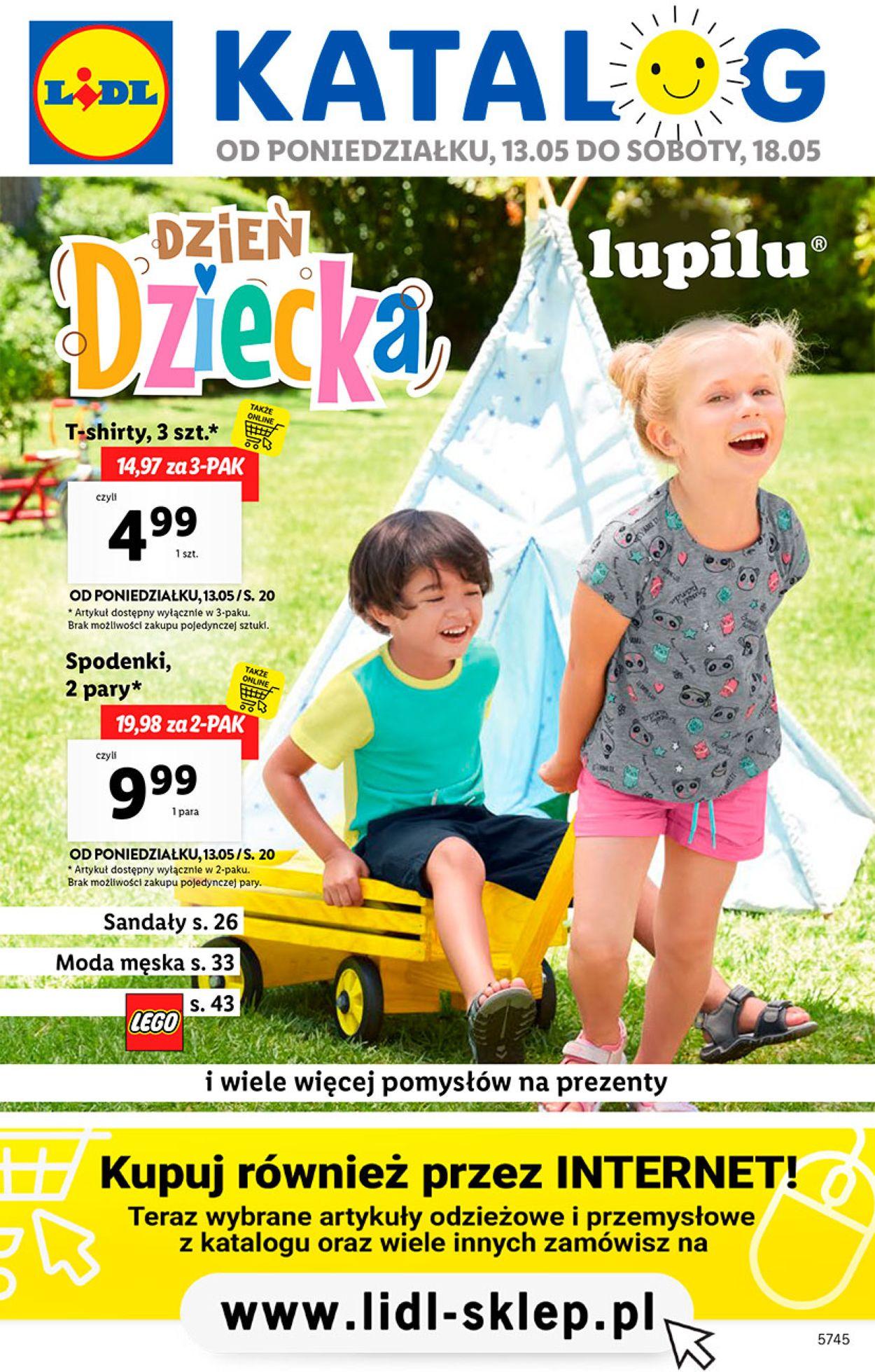 Gazetka promocyjna LIDL - 13.05-18.05.2019