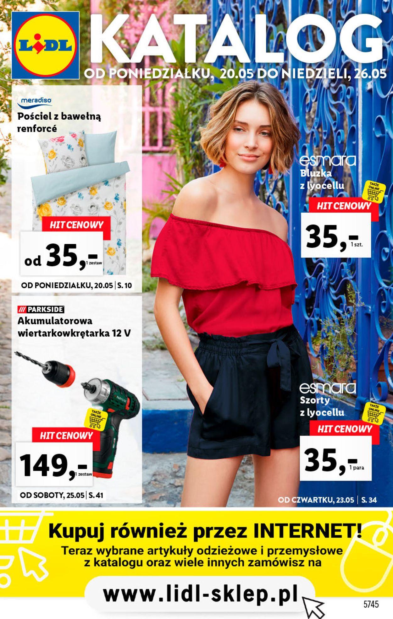 Gazetka promocyjna LIDL - 20.05-26.05.2019