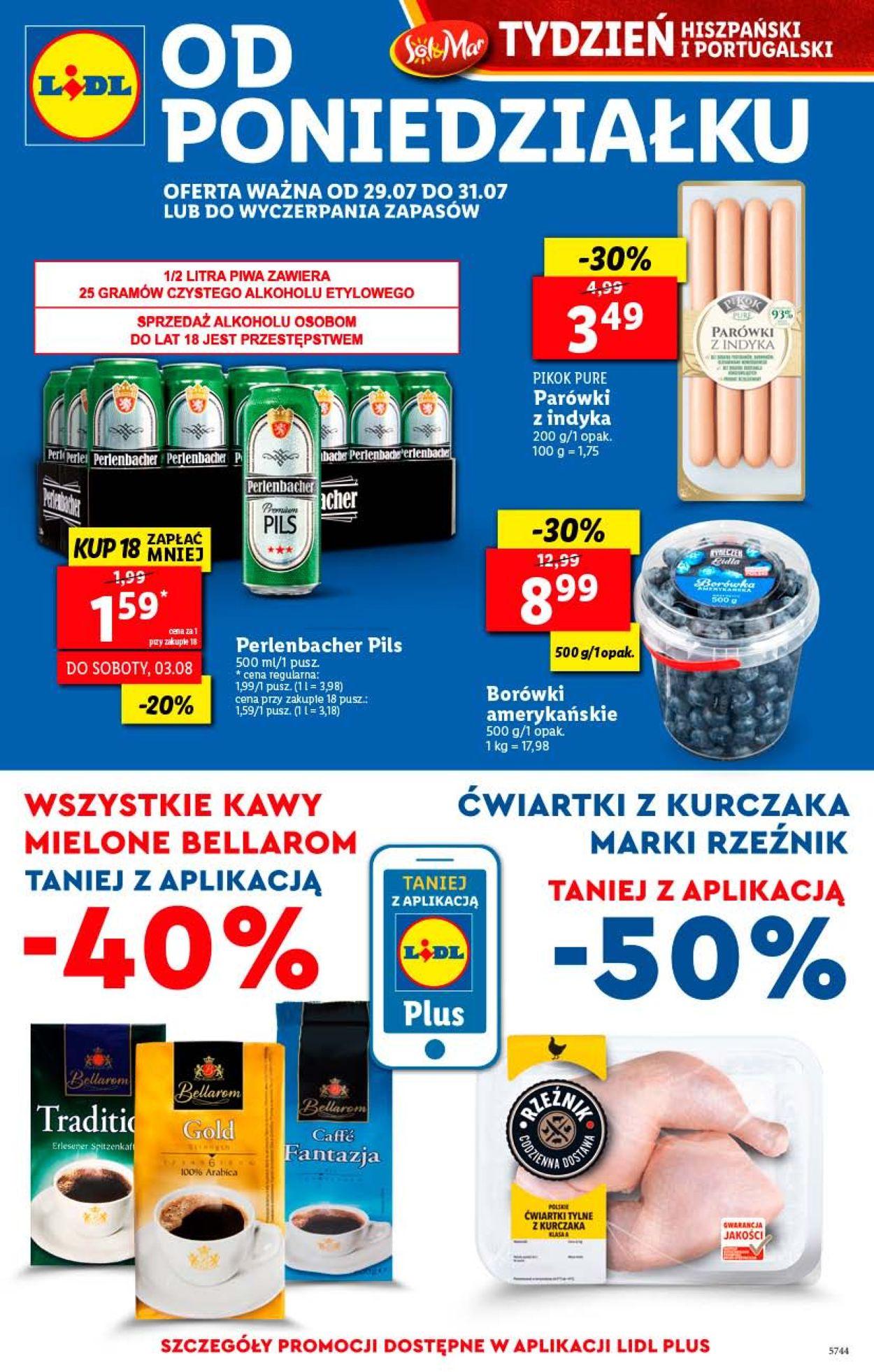 Gazetka promocyjna LIDL - 29.07-31.07.2019