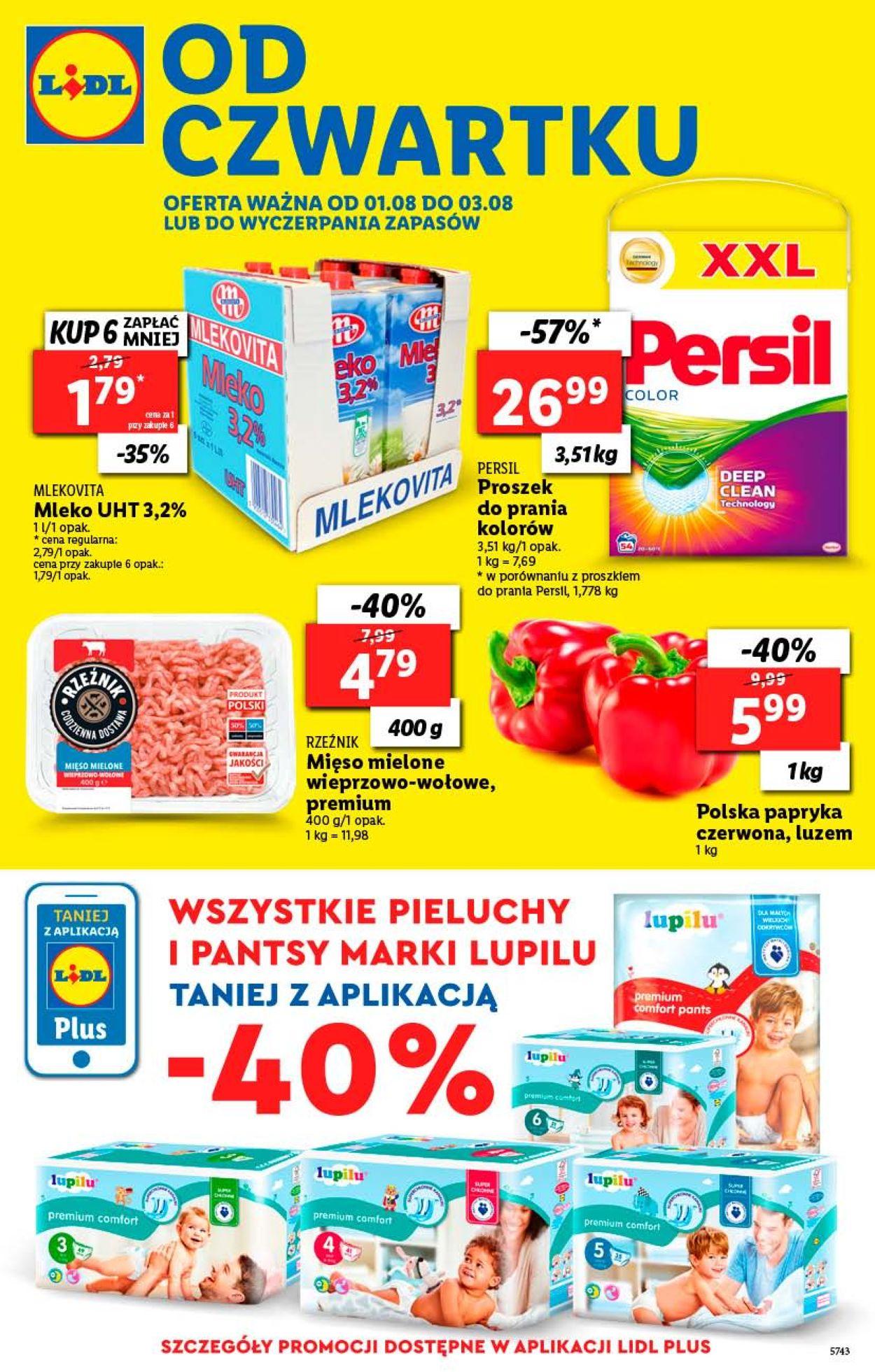 Gazetka promocyjna LIDL - 01.08-03.08.2019