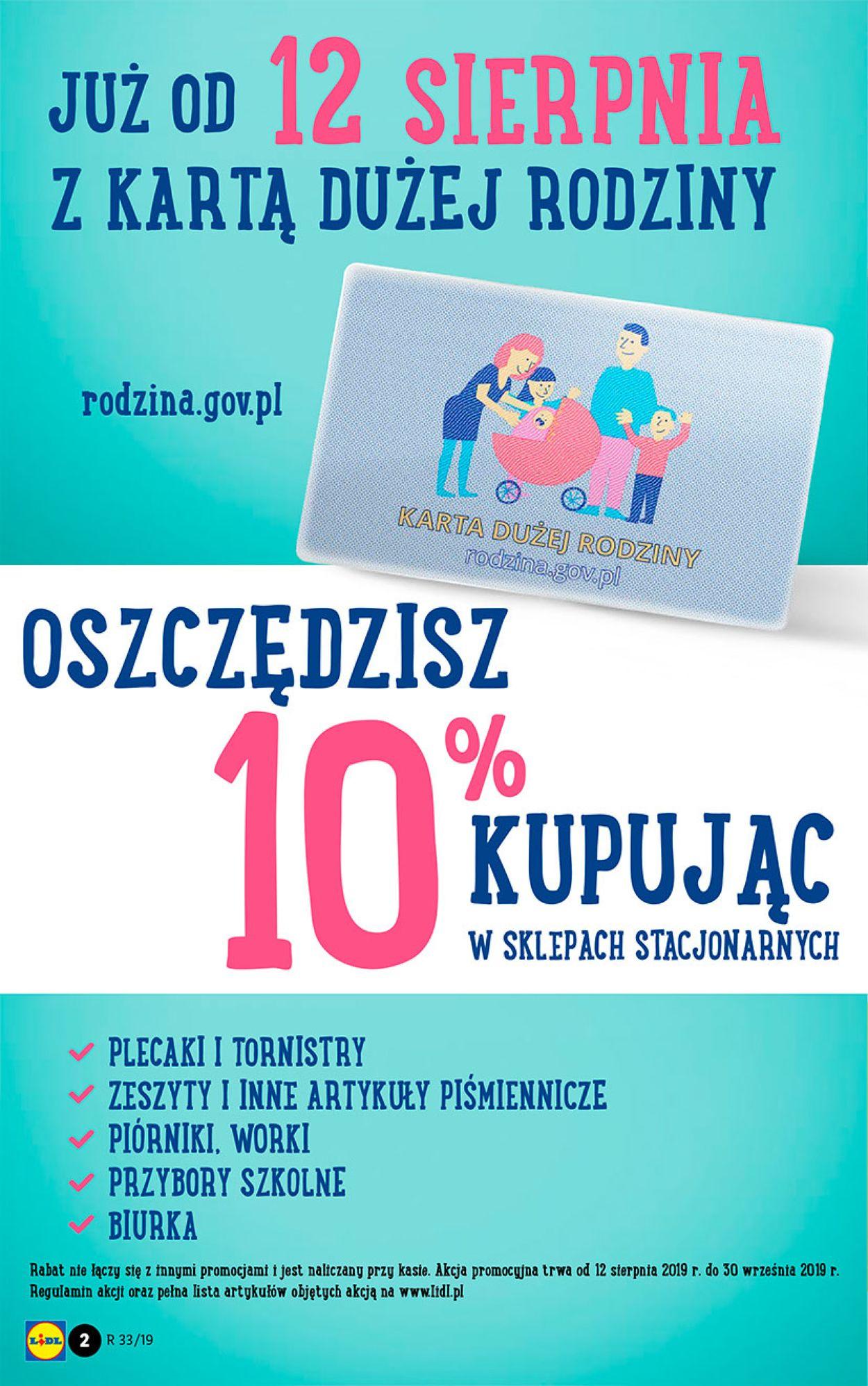 Gazetka promocyjna LIDL - 12.08-17.08.2019 (Strona 2)