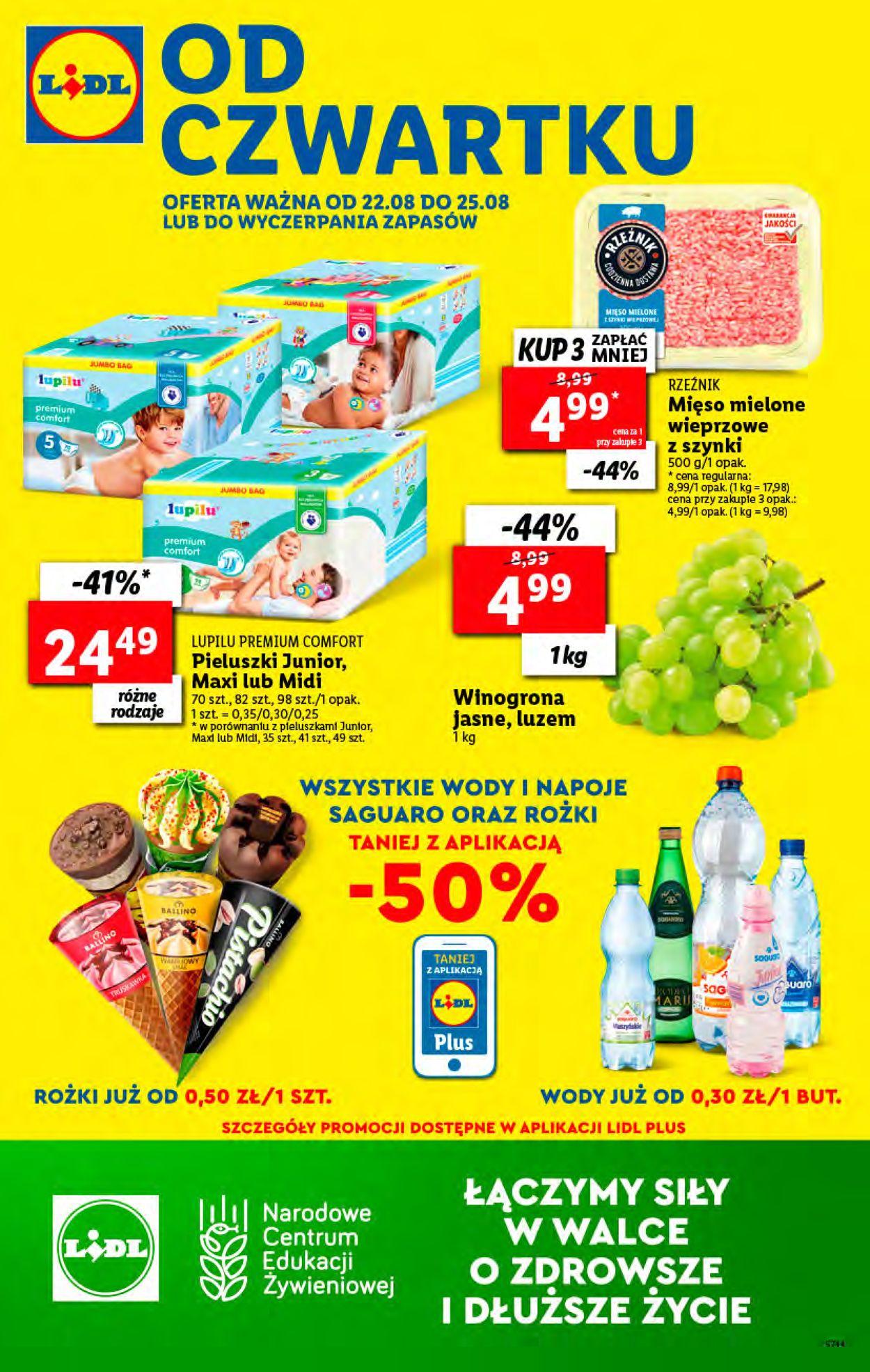 Gazetka promocyjna LIDL - 22.08-25.08.2019